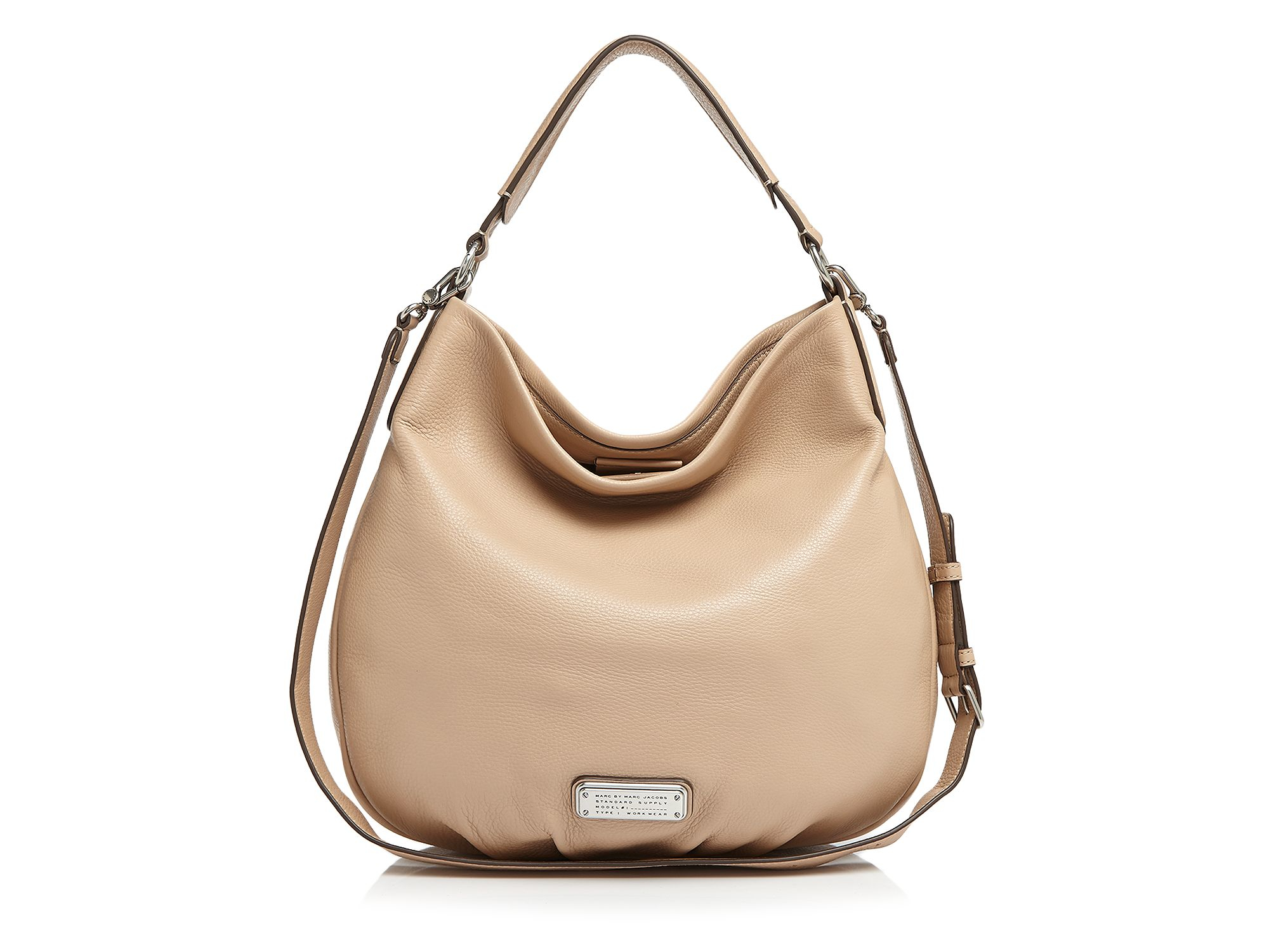 709c0b98d9b9 Marc By Marc Jacobs Hobo - New Q Hillier in Natural - Lyst