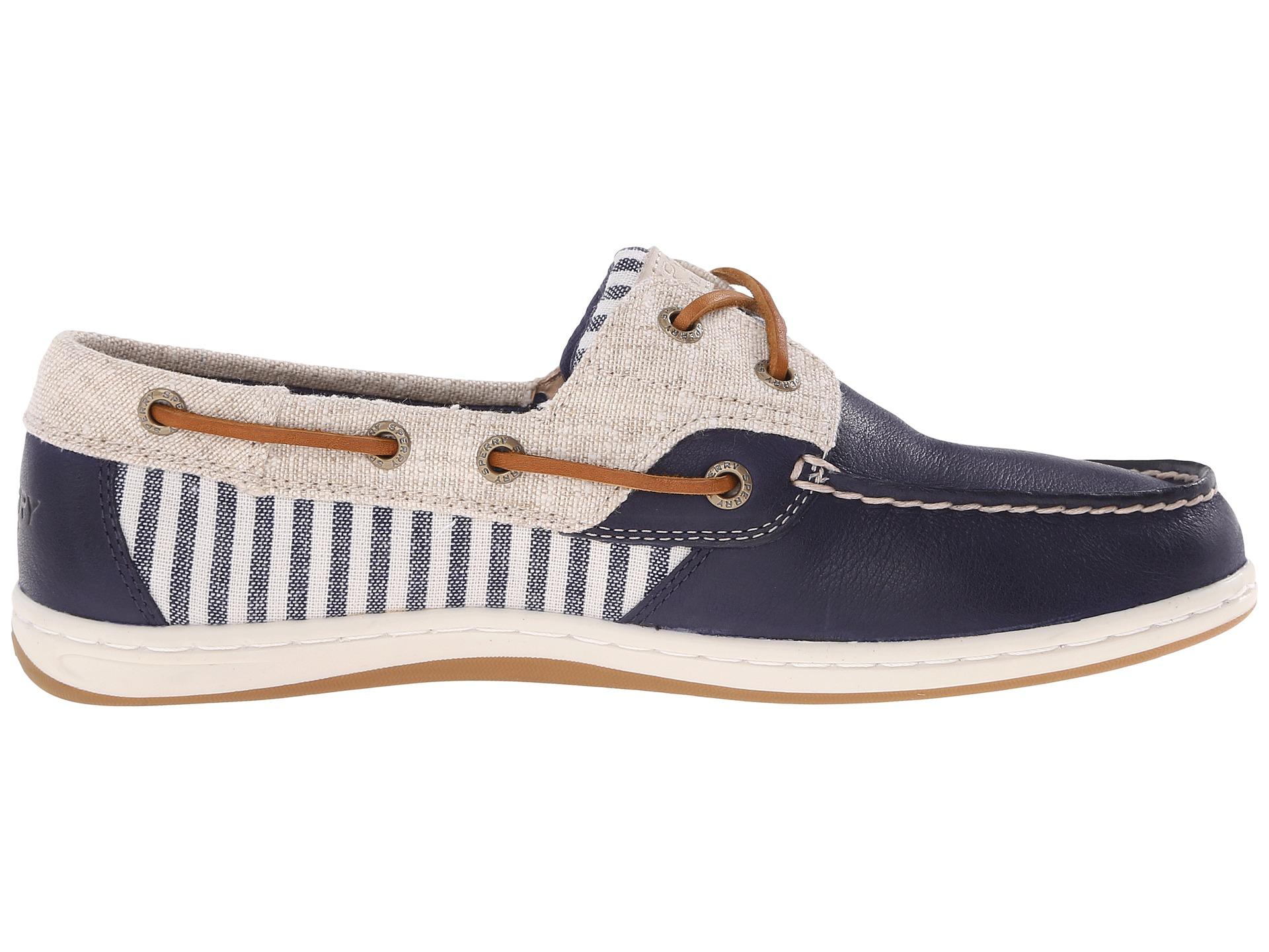 Women S Koifish Stripe Boat Shoe