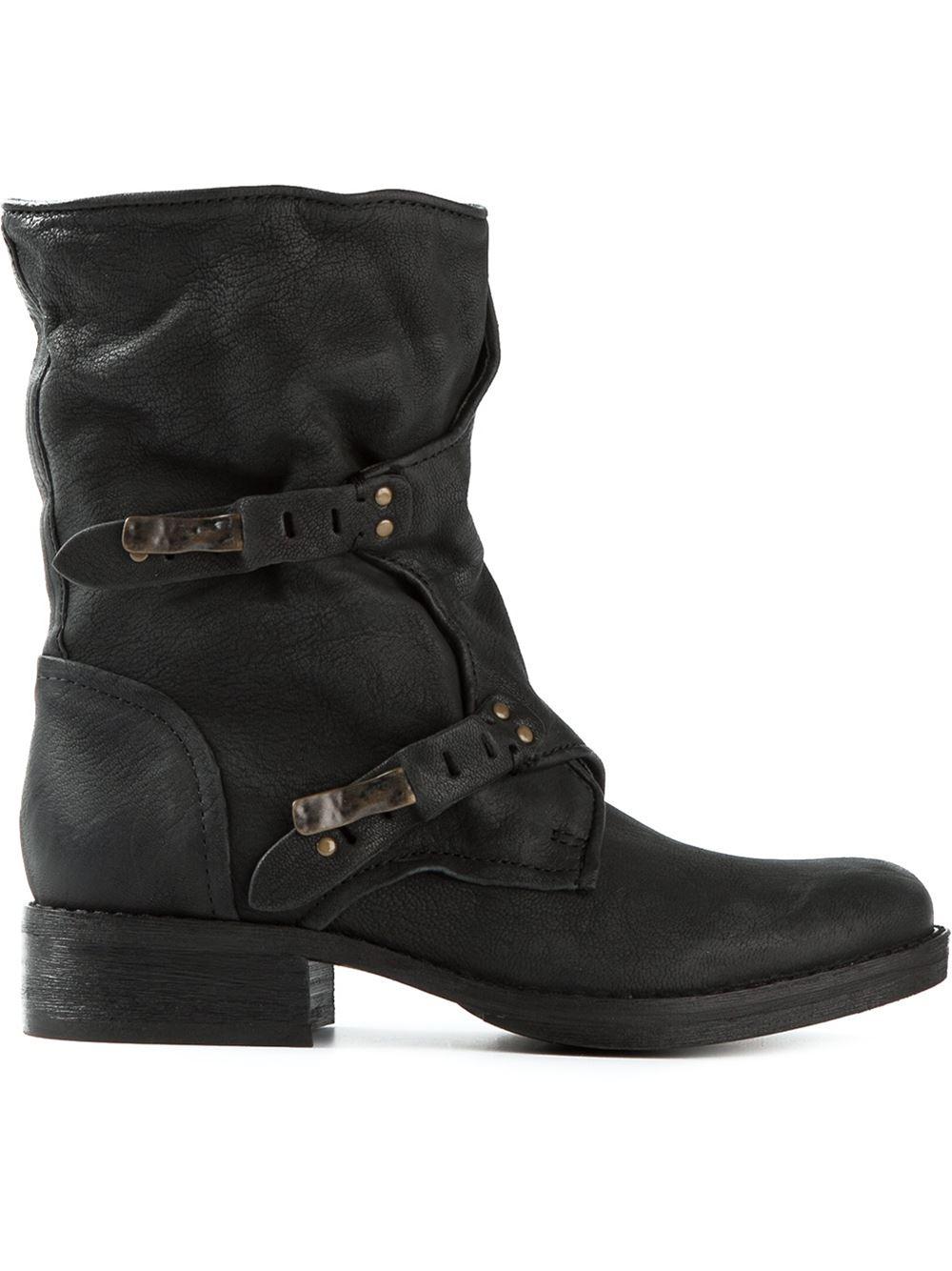 af5c54e89576 Lyst - Sam Edelman  Ridge  Boots in Black