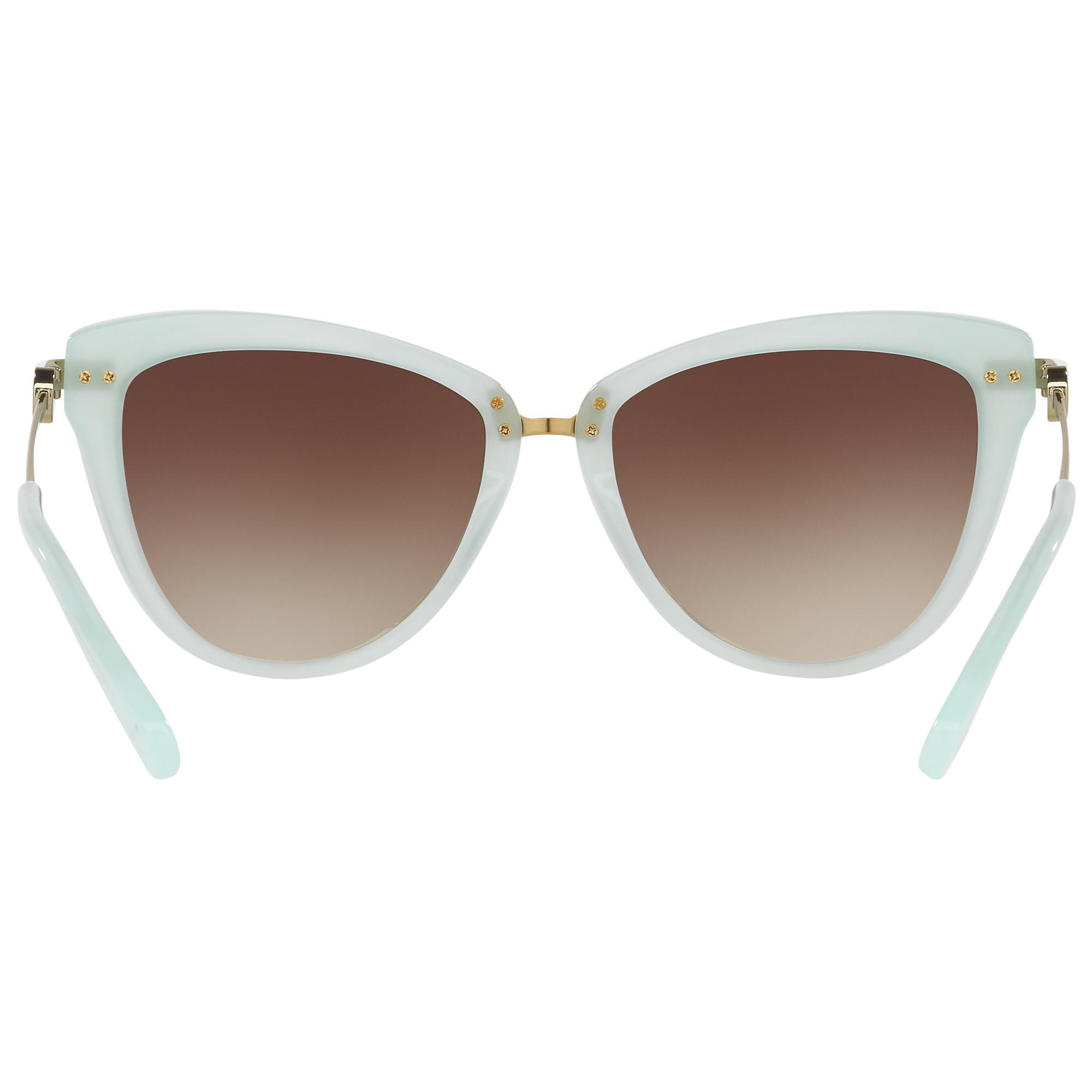 6681b6207d4 Michael Kors Mk6039 Abela Ii Cat s Eye Sunglasses in Green - Lyst