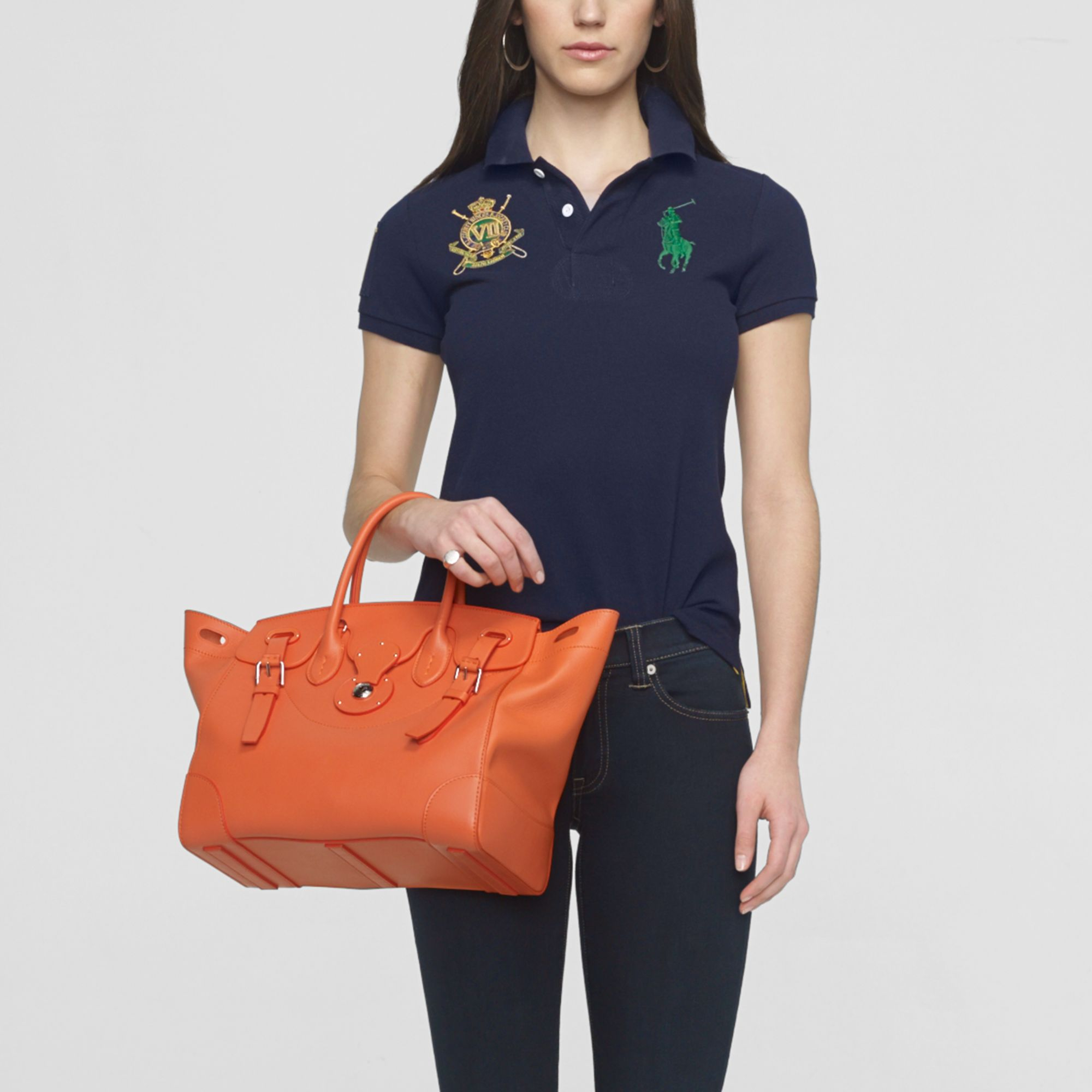 Ralph Lauren Soft Ricky Bag in Metallic - Lyst d81c1898b30dc