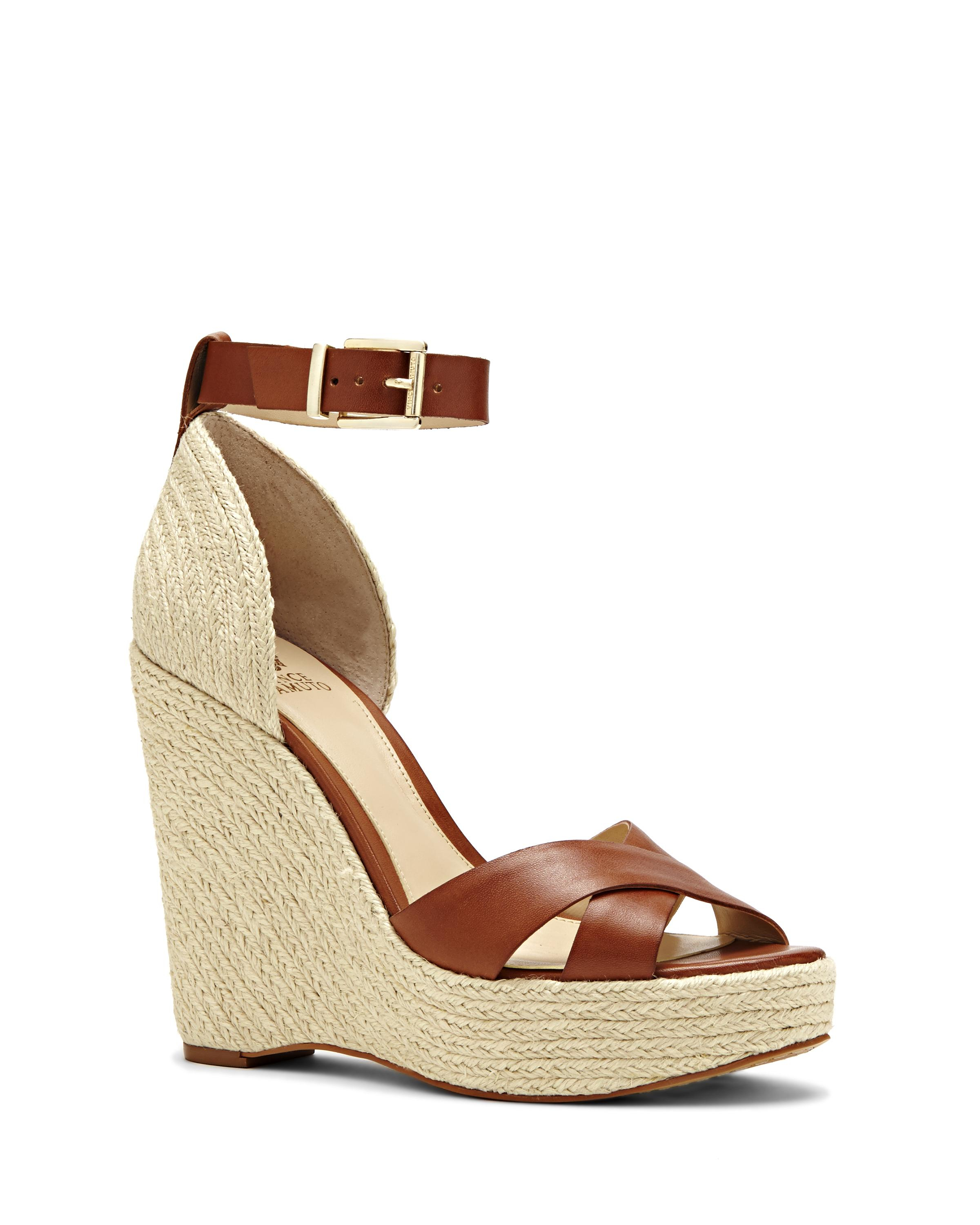 29bb8ce701e Lyst - Vince Camuto Maurita – Espadrille Wedge Sandal in Brown