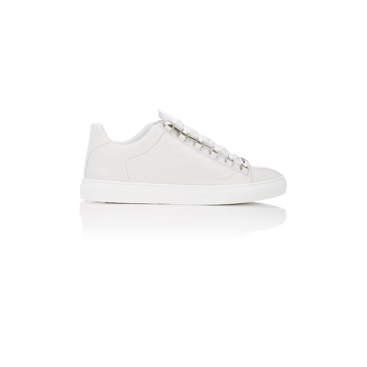 756bc5646948 Lyst - Balenciaga Leather Arena Low-top Sneakers in White for Men