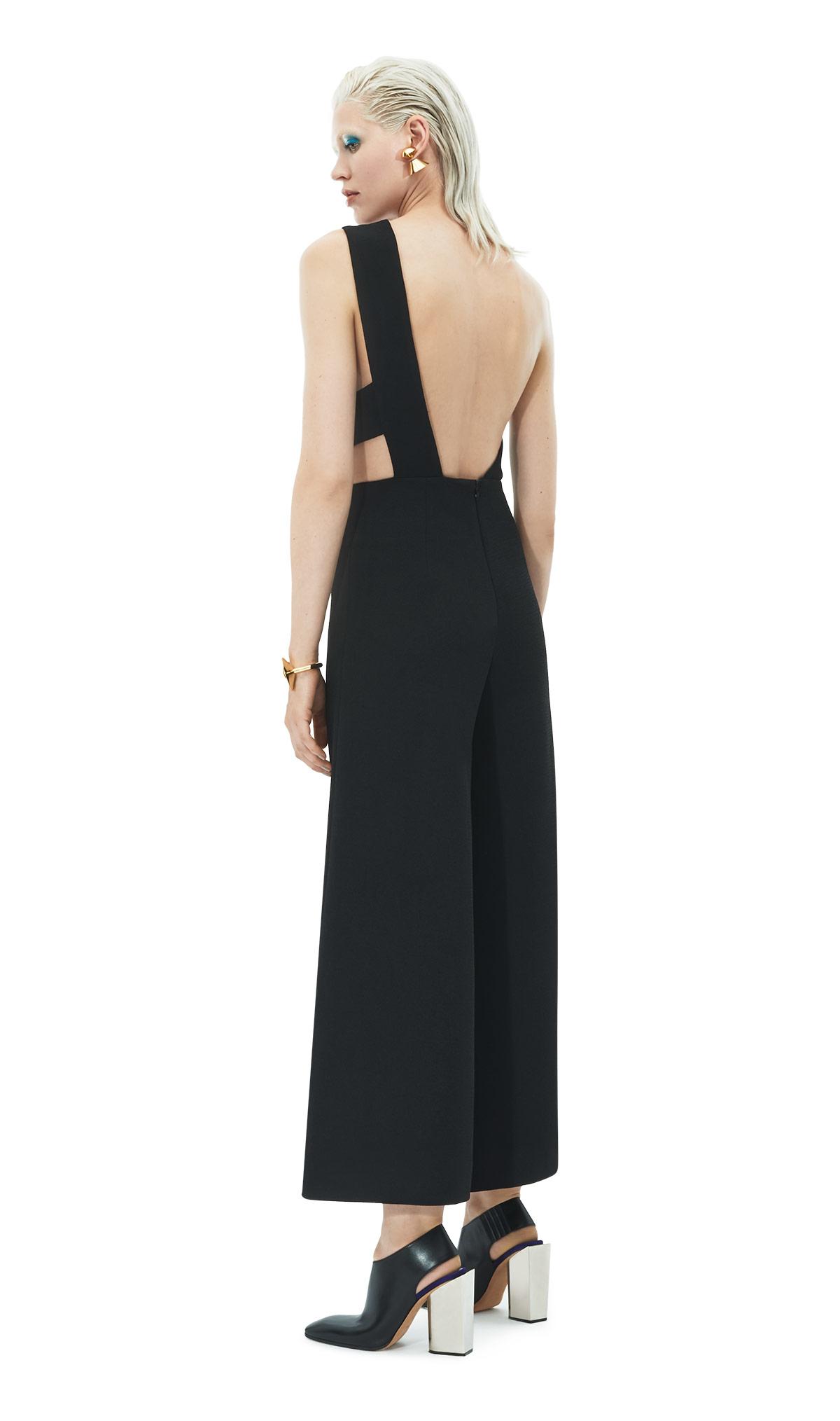d981f727256 Lyst - Solace London Addison Jumpsuit Black in Black