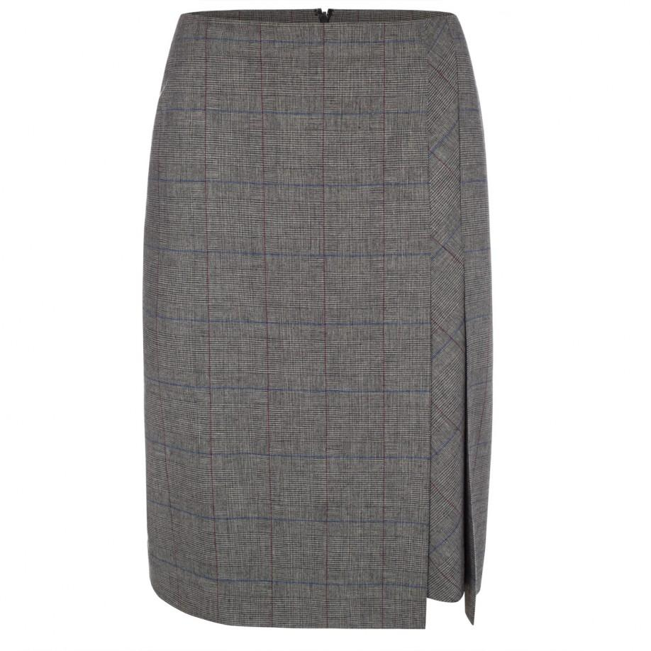 paul smith s grey prince of wales check layer panel
