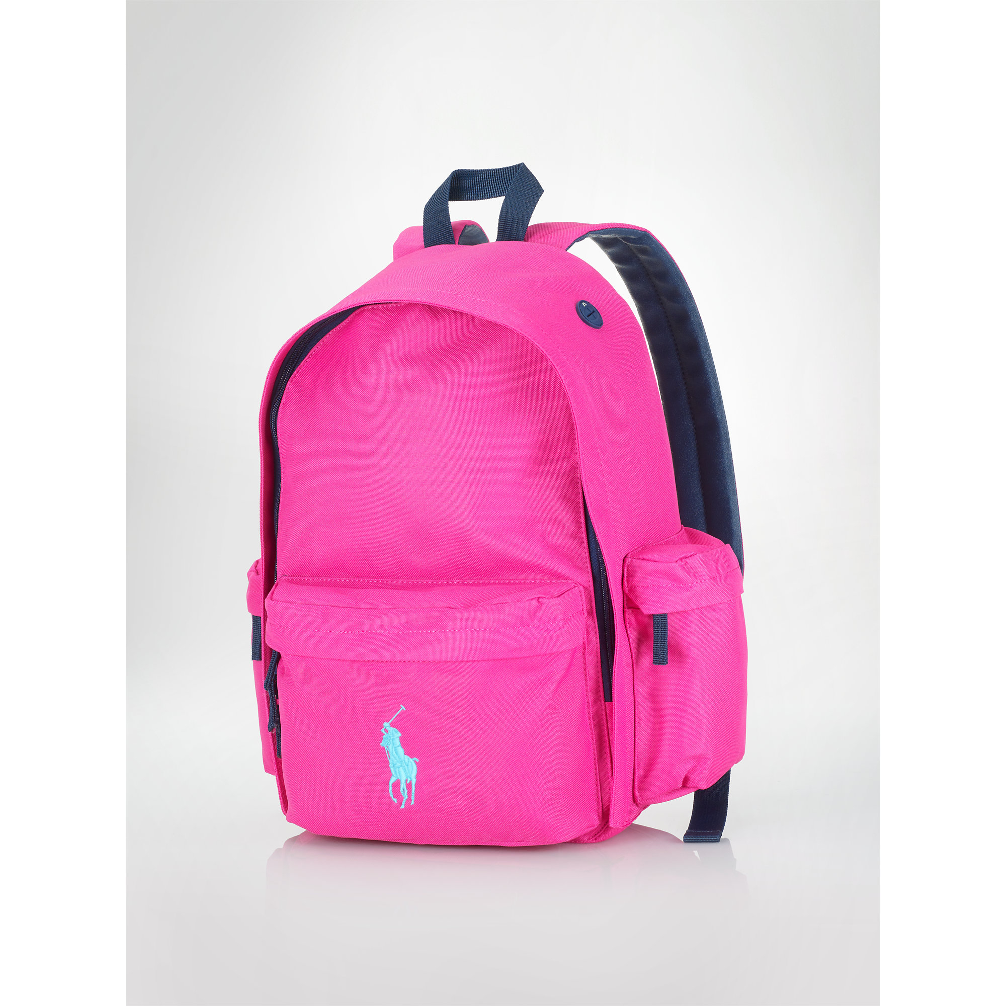 713b6353c239 Lyst - Ralph Lauren Large Big Pony Backpack in Pink