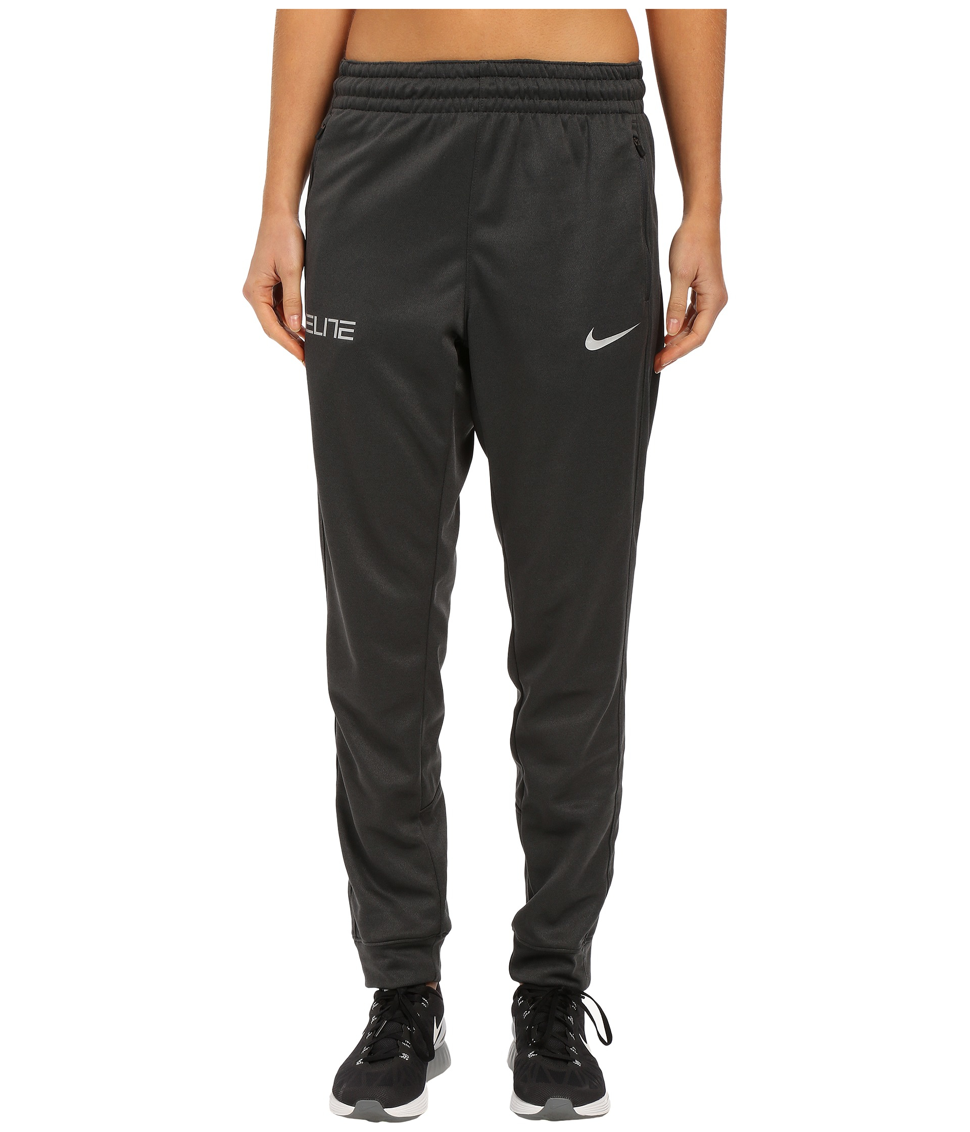 Nike Elite Cuff Pants in Gray for Men