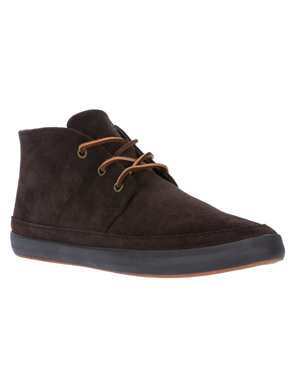 polo ralph lauren 39 erwin 39 ankle boot in brown for men lyst. Black Bedroom Furniture Sets. Home Design Ideas