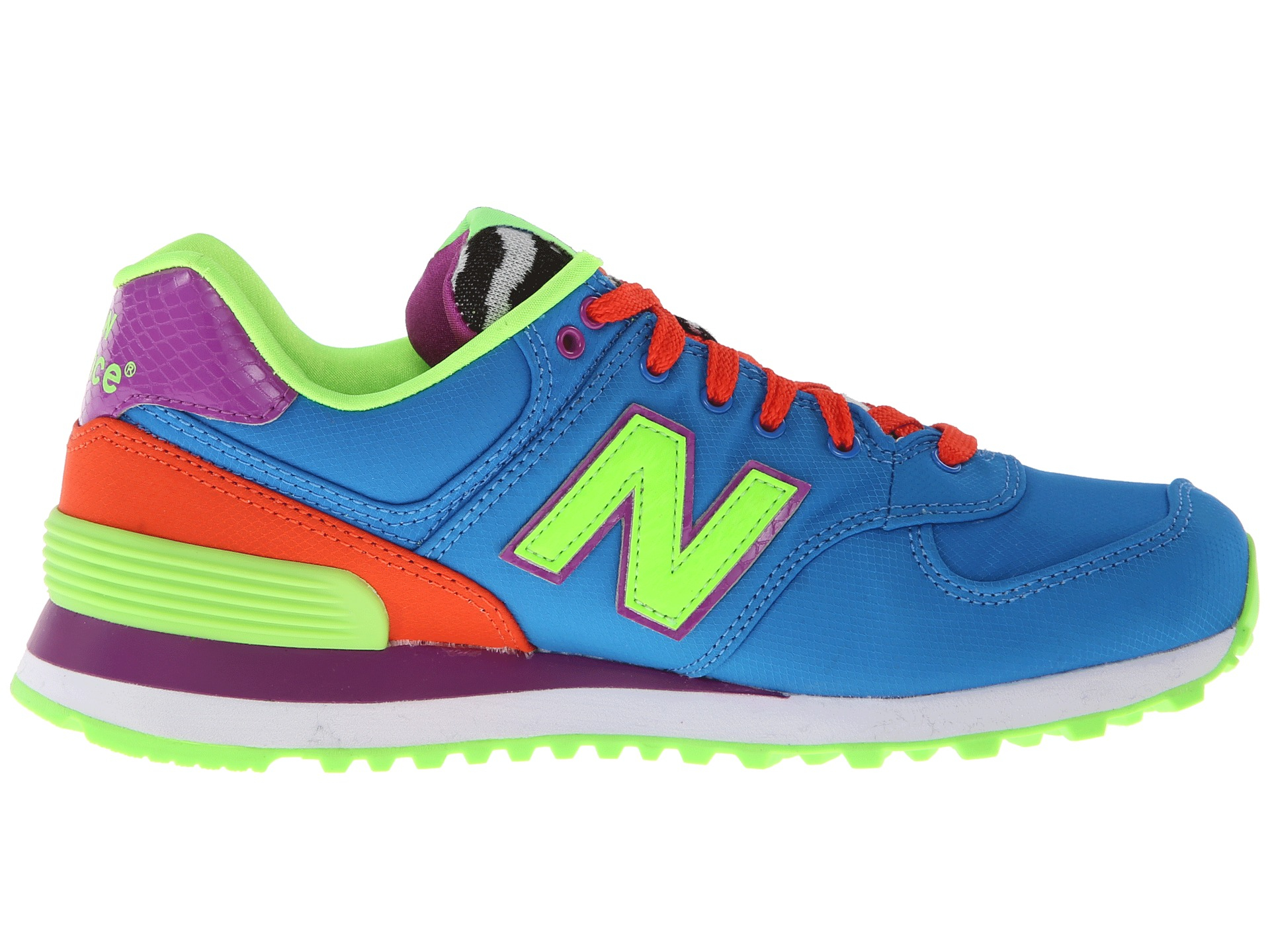 new balance 574 pop safari trainers