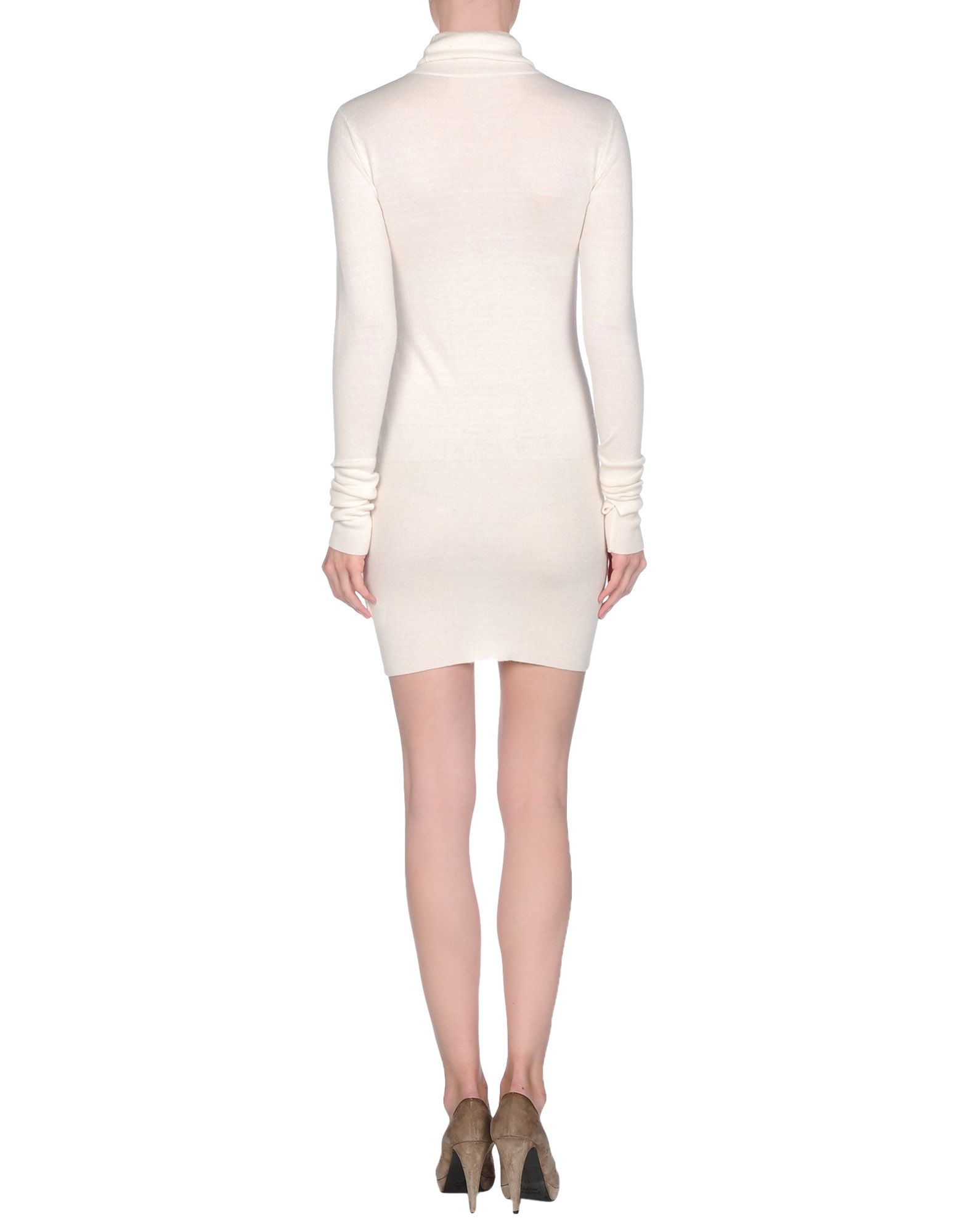 Lyst mm6 by maison martin margiela short dress in white for Mm6 maison margiela