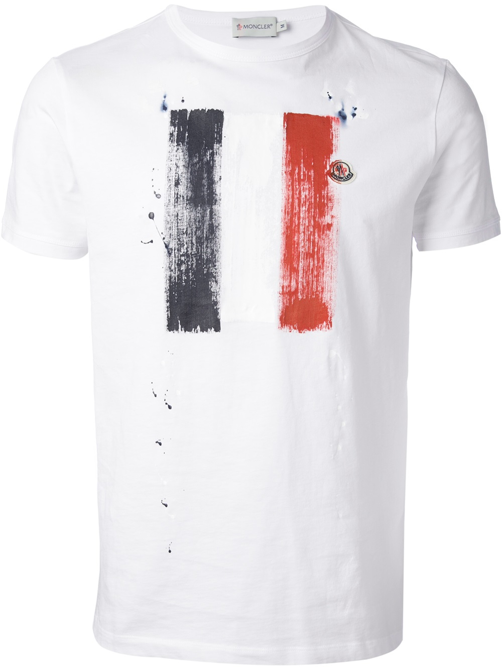 moncler mens white t shirt