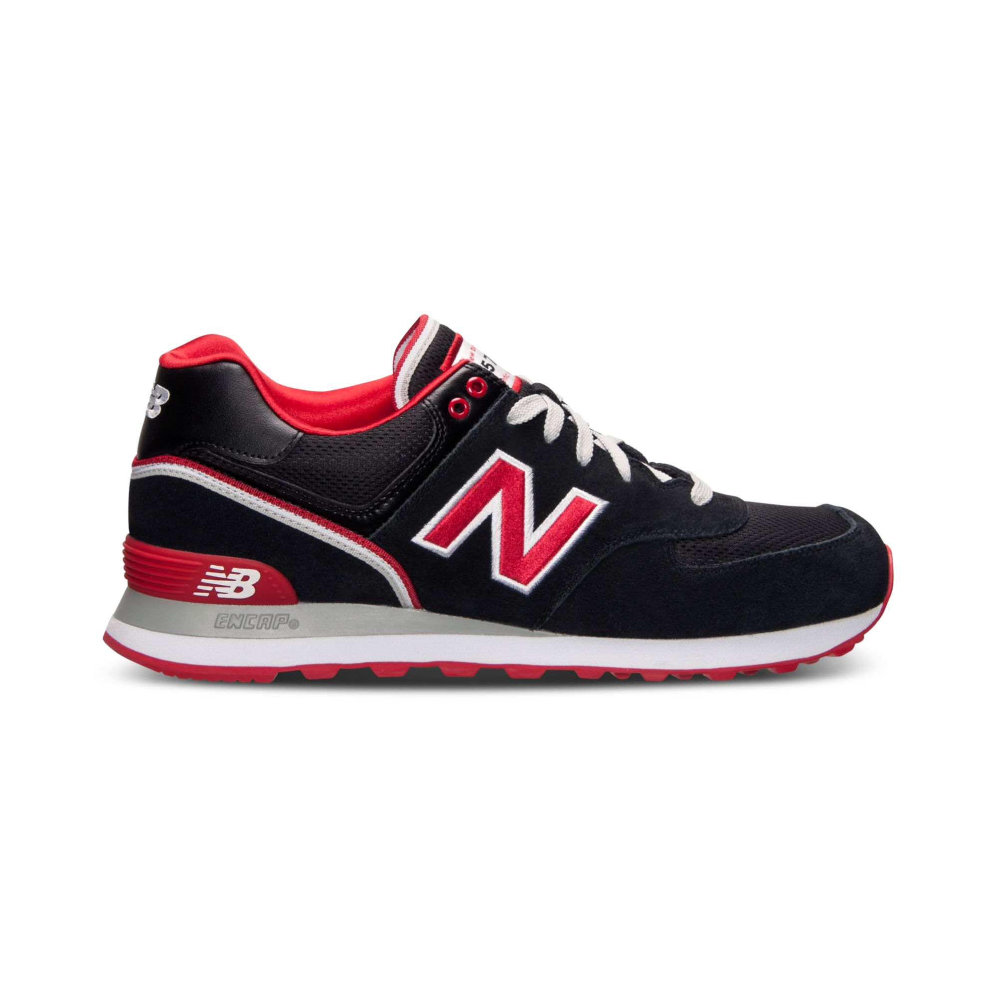 new balance mens 574 stadium jacket casual sneakers from. Black Bedroom Furniture Sets. Home Design Ideas