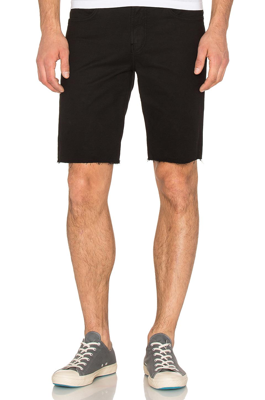 J brand Tyler Cut-off Short in Black for Men | Lyst