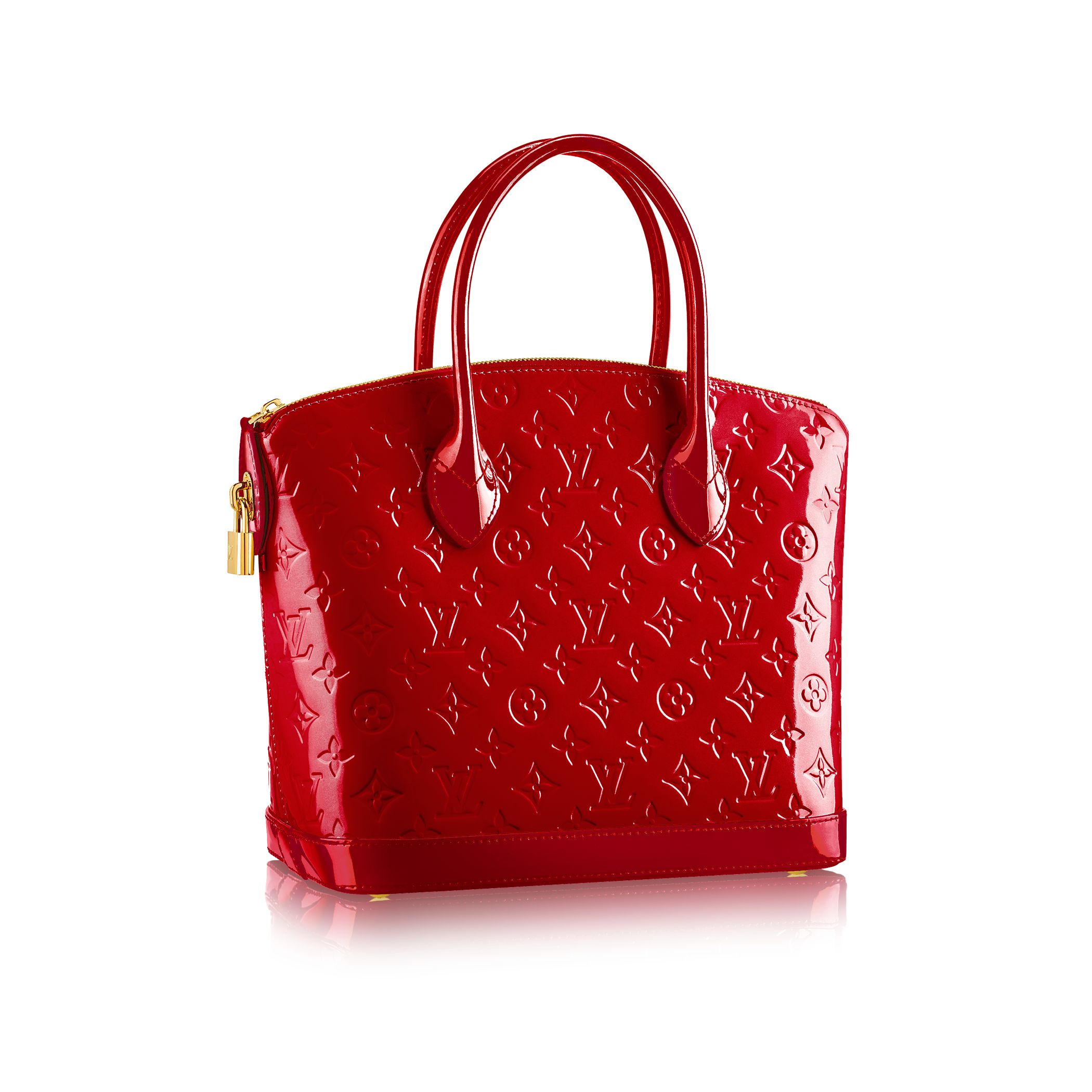 Louis Vuitton Trash Bags Gallery Louis Vuitton Lockit Pm In Red Cherry Lyst