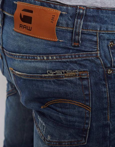 g star raw g star jeans low tapered lexicon medium aged in. Black Bedroom Furniture Sets. Home Design Ideas