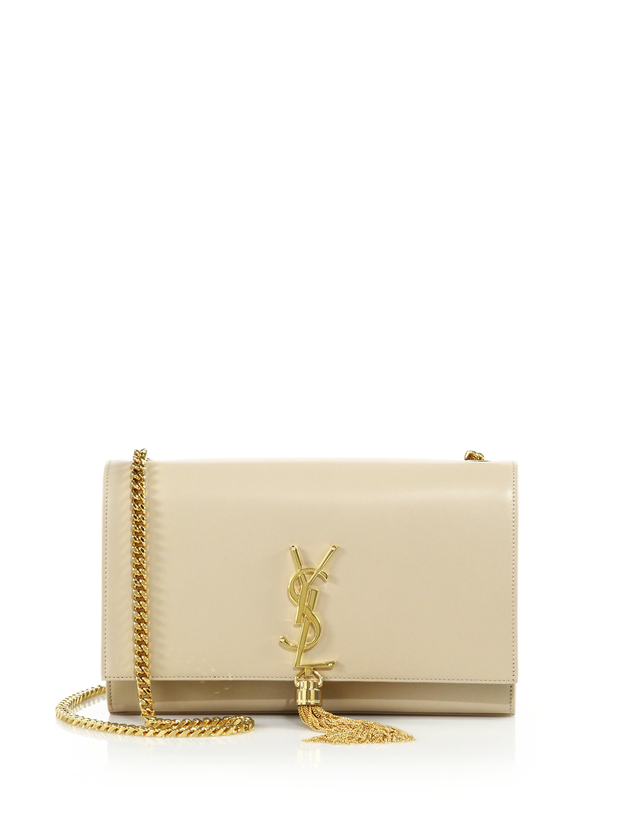 yves saint laurent prices - monogram medium chain shoulder bag, fuchsia