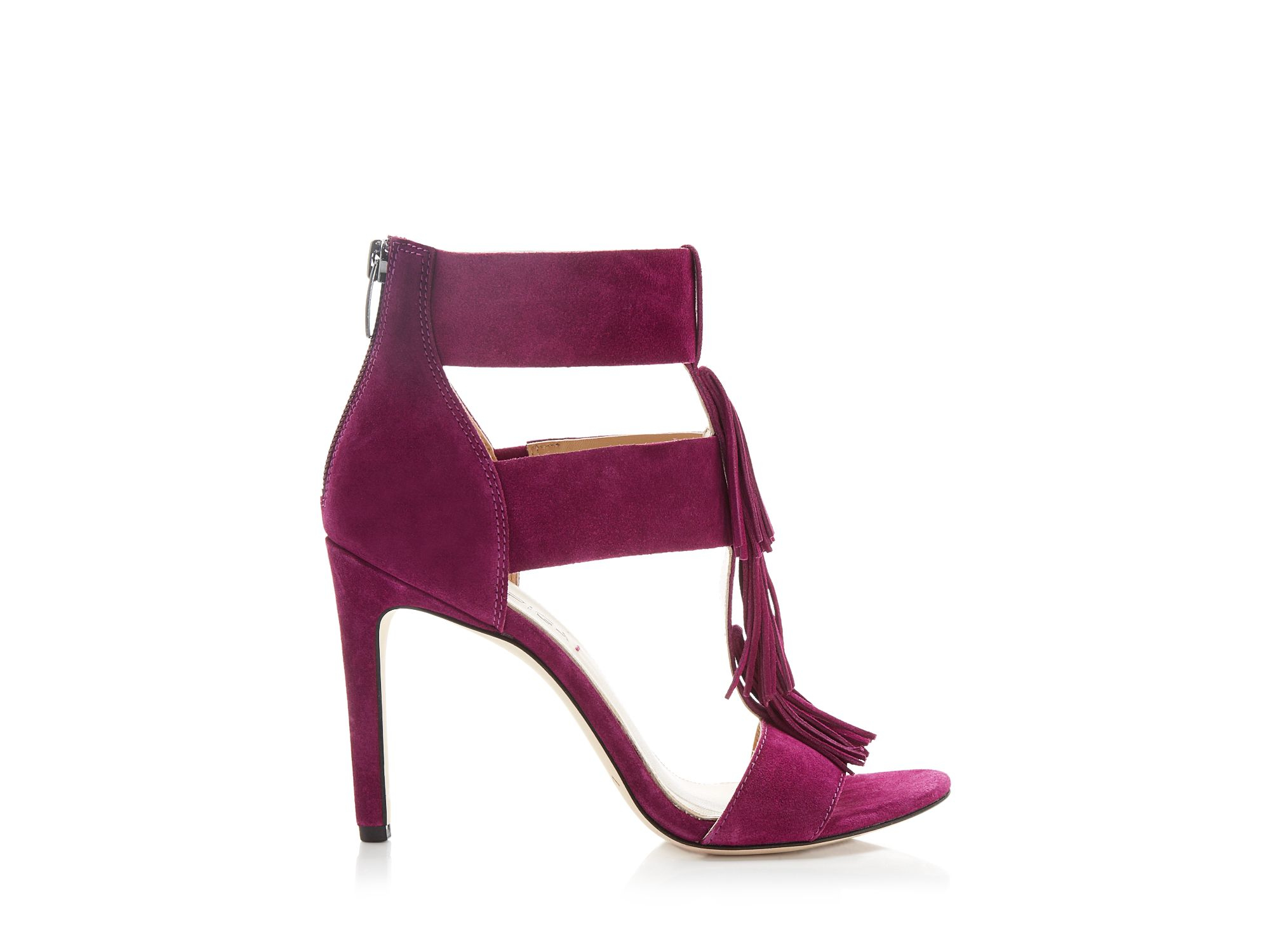 Bright Purple High Heels