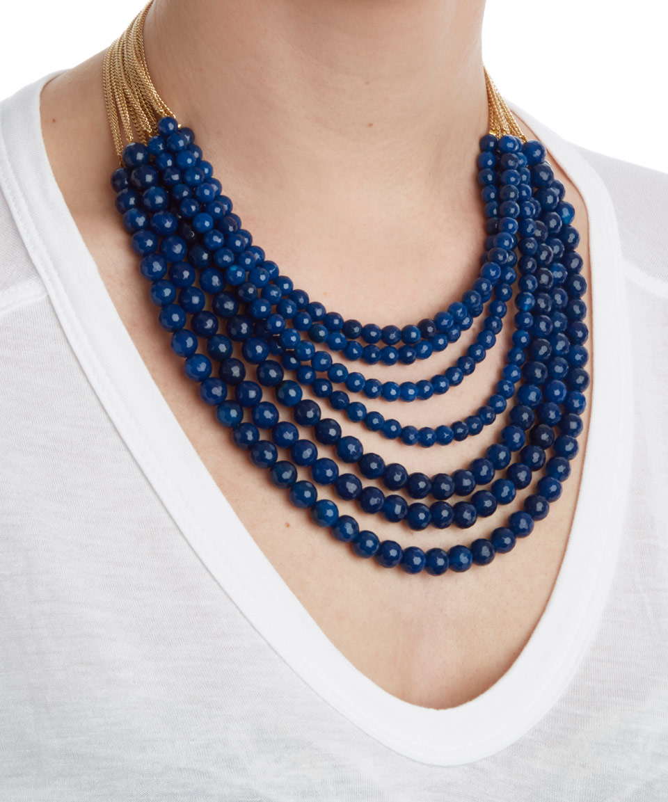 Rosantica Mini Raissa Beaded Necklace OGn30gT