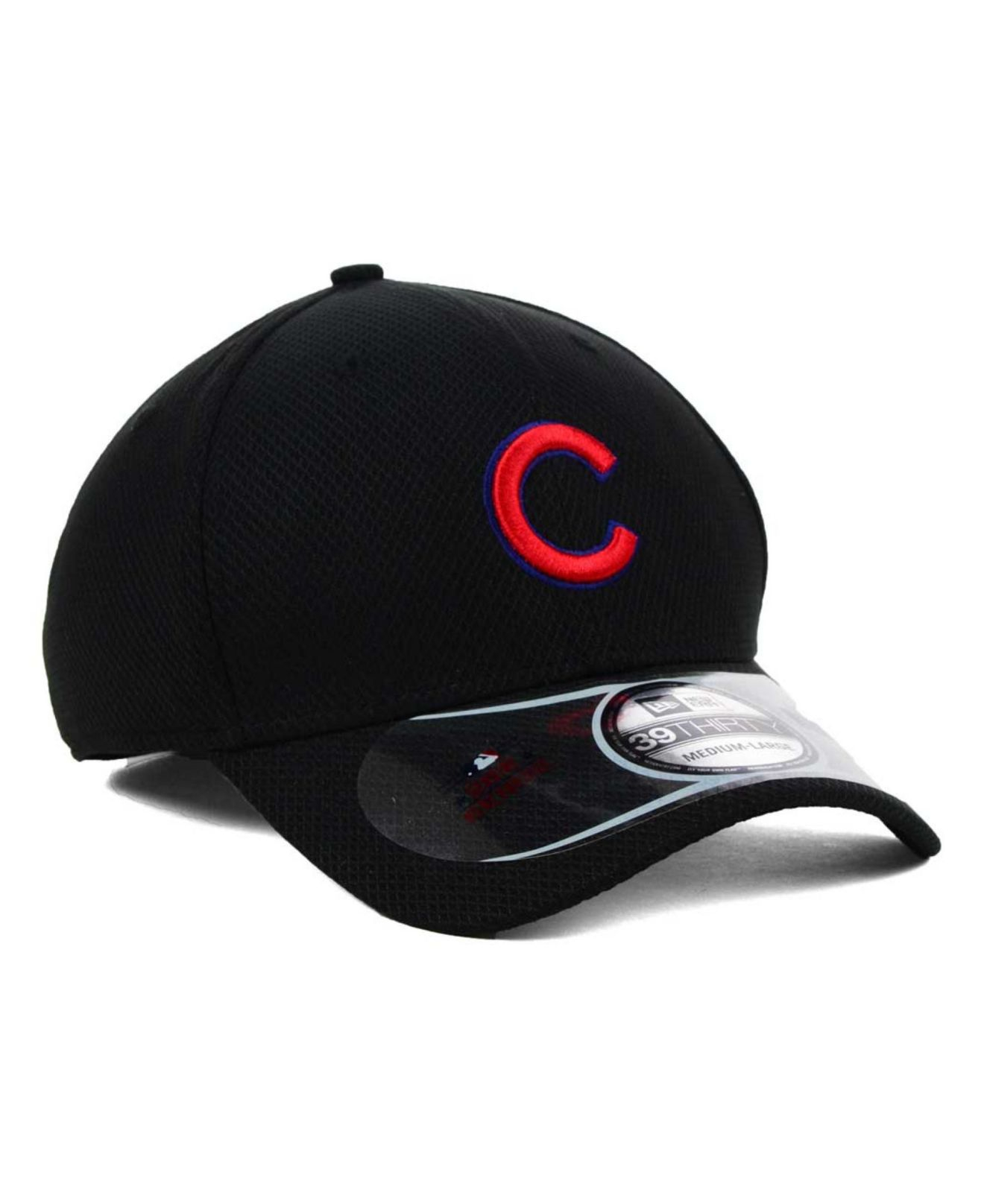 new styles 62103 fd2f9 ... czech lyst ktz chicago cubs mlb diamond era black 39thirty cap in black  68a18 a55a0