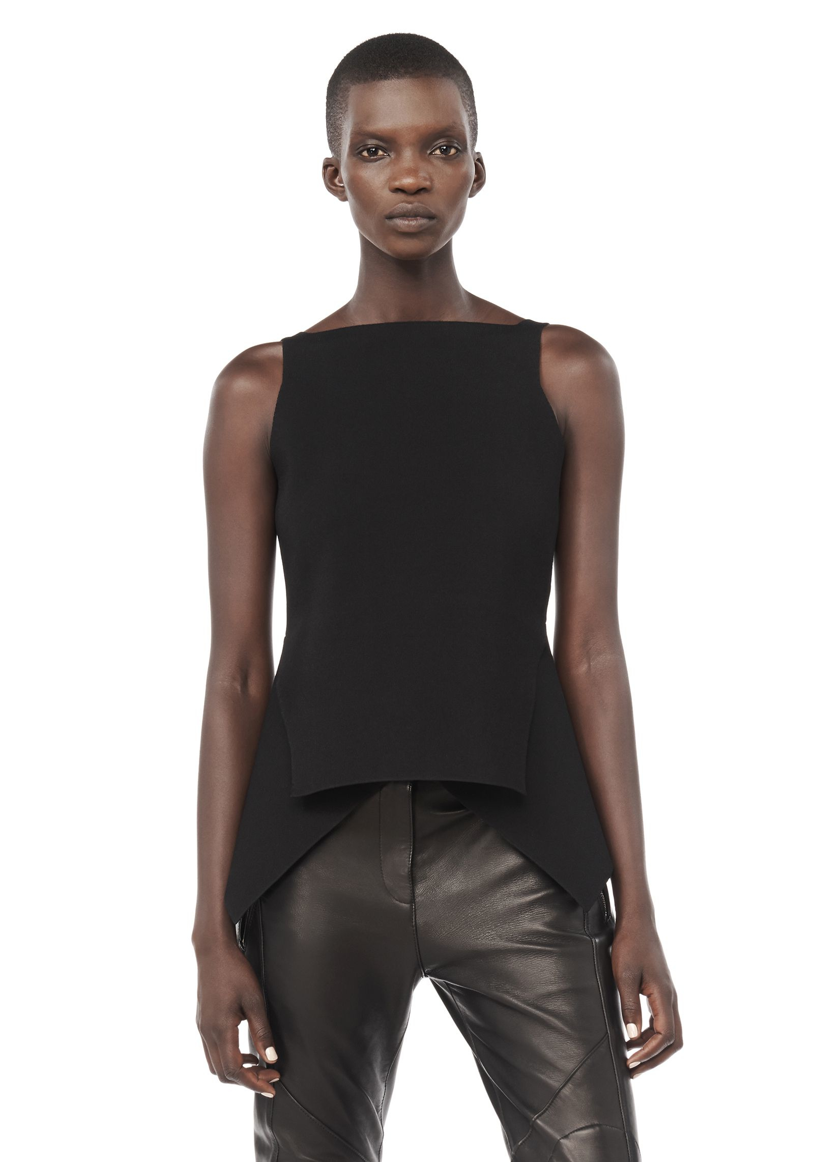 Low Price Sale Online sleeveless peplum shirt - Black Alexander Wang Pay With Paypal Sale Online Buy Cheap Brand New Unisex 8cStcuJj