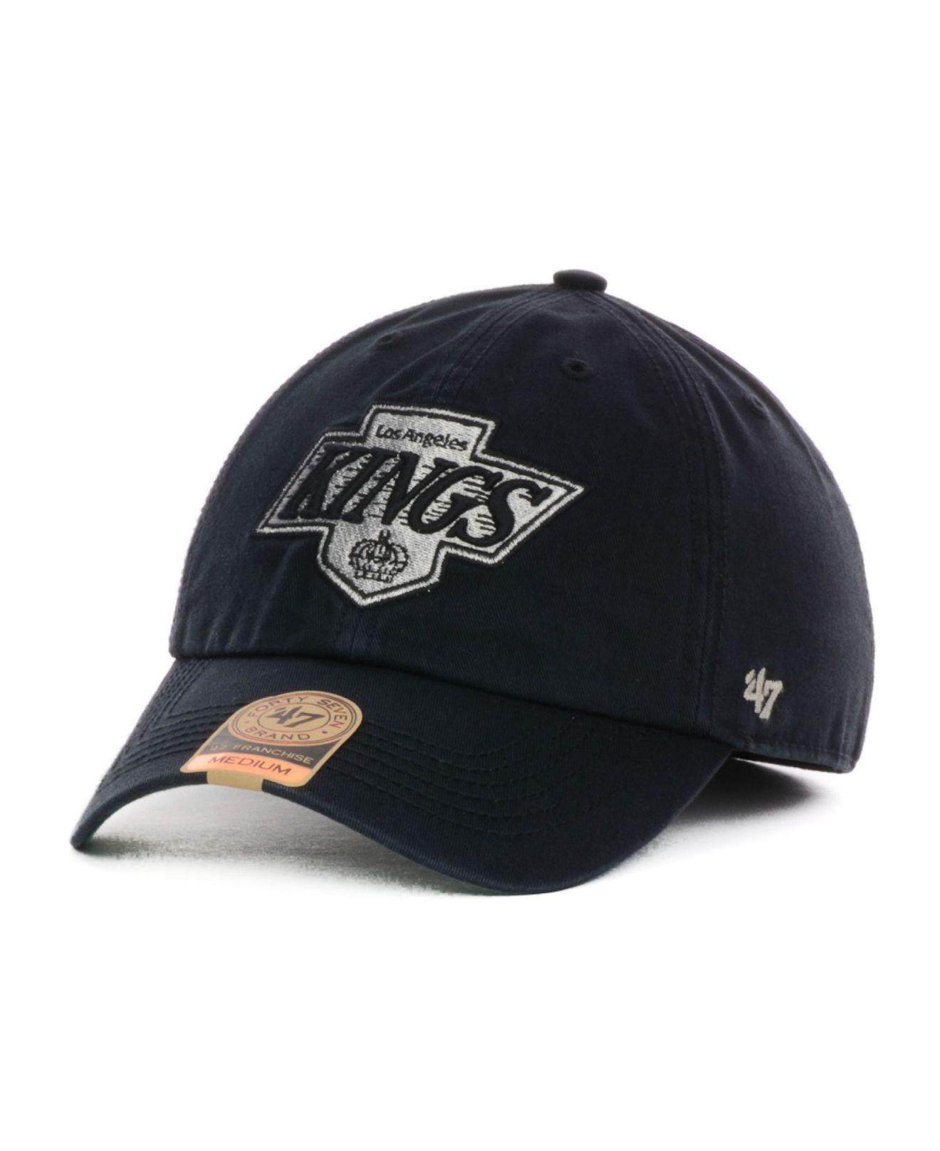 9f66c89d245c8 47 Brand Los Angeles Kings Vintage Franchise Cap in Black for Men - Lyst