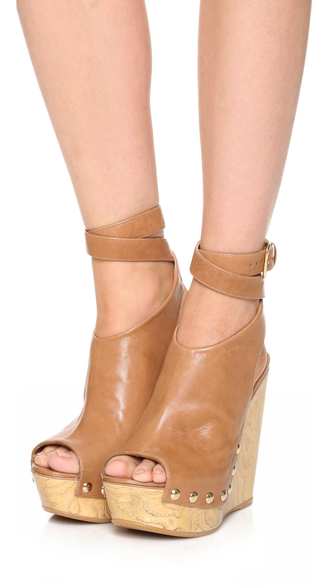 Stuart Weitzman Leather Platform Sandals best seller sale online ZnRncL