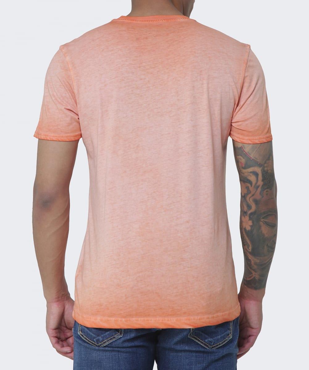 napapijri sharold t shirt in orange for men lyst. Black Bedroom Furniture Sets. Home Design Ideas