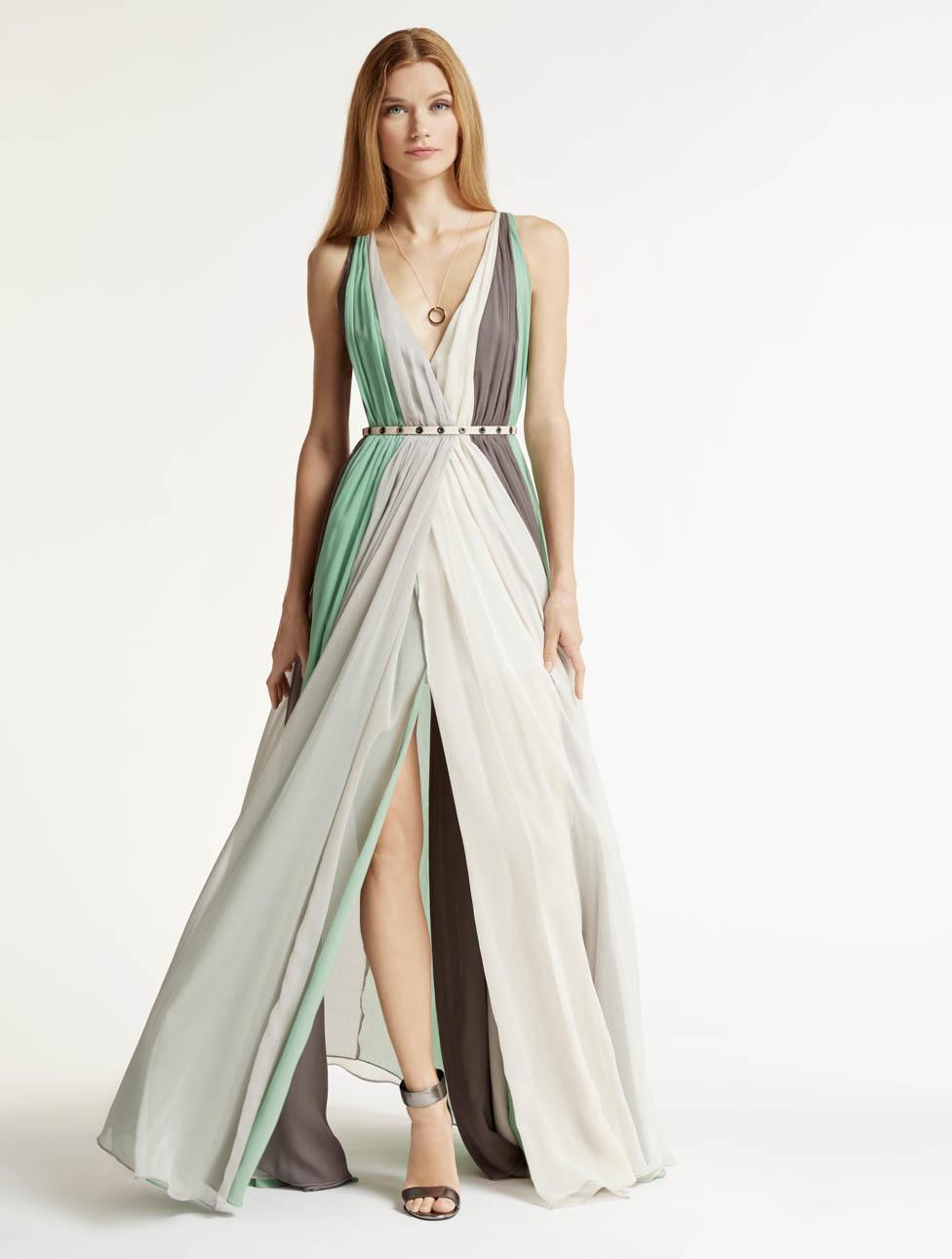 Multi Chiffon Dress