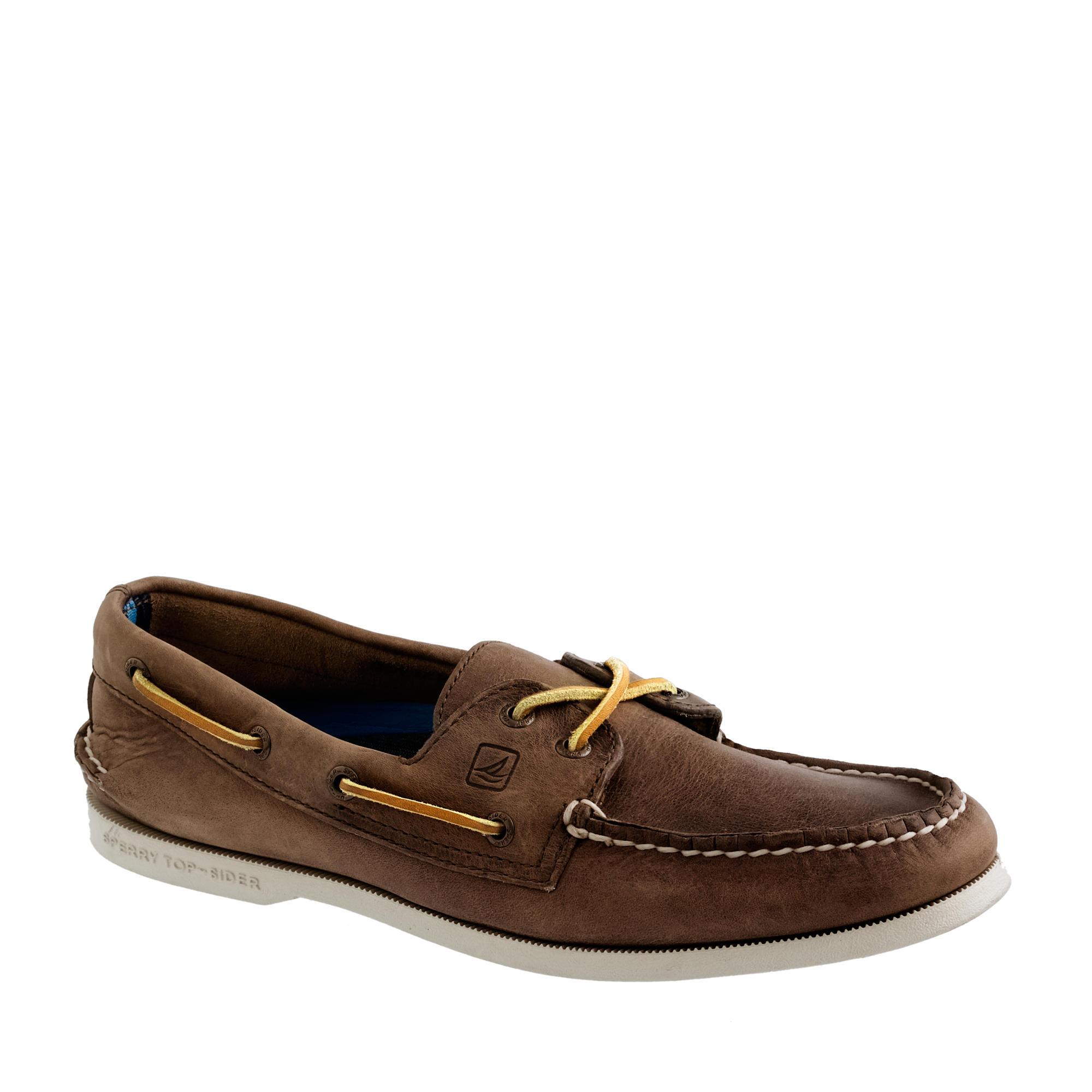 Sperry Dark Brown Boat Shoes Uk London
