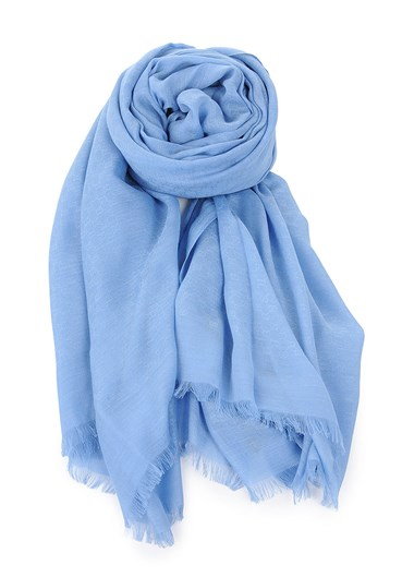 gucci light blue scarf in blue lyst