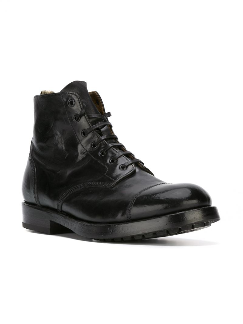 Officine Creative Lowry Boots In Black For Men Lyst