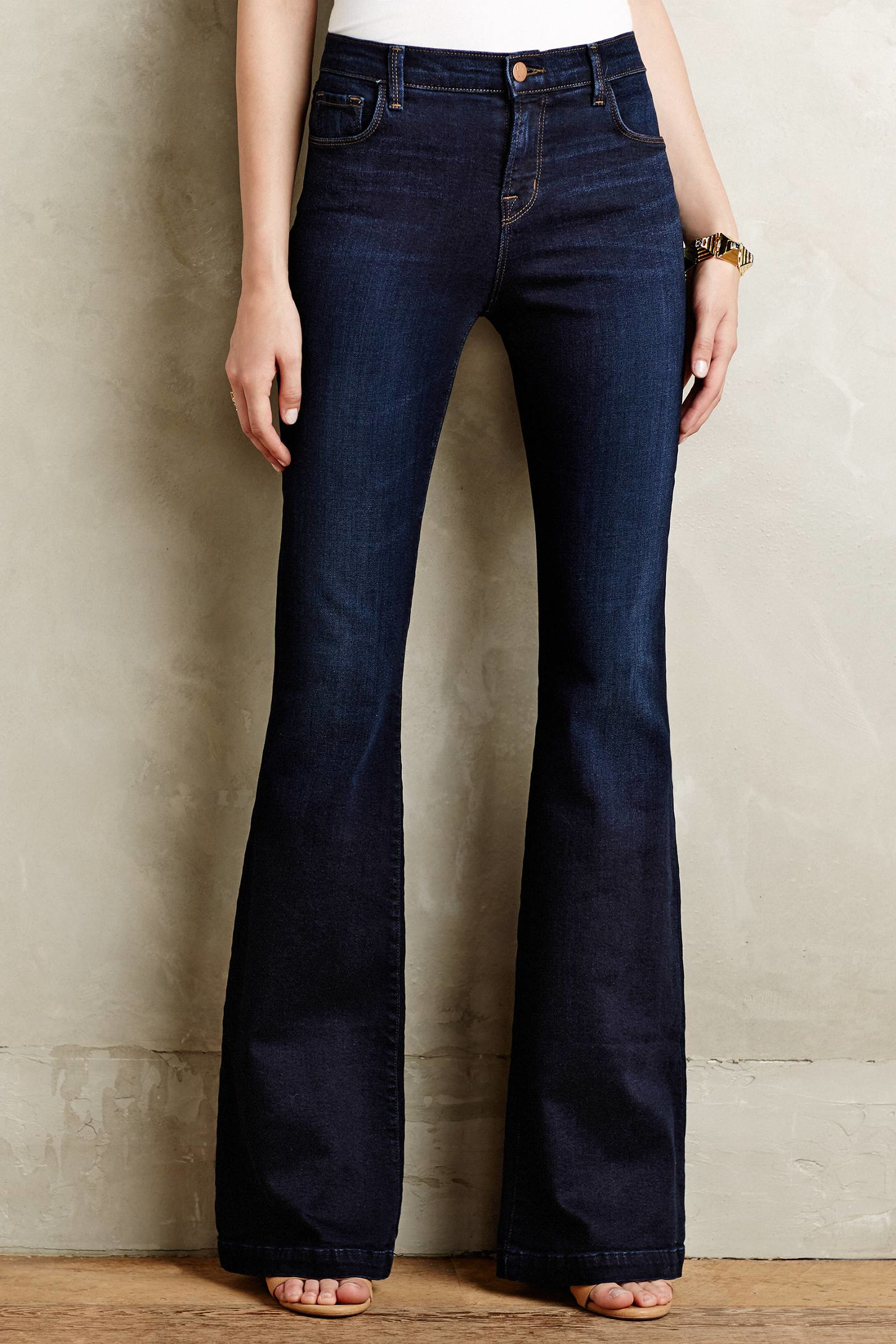 J brand Maria 23021 Maria Flare Jeans in Blue | Lyst