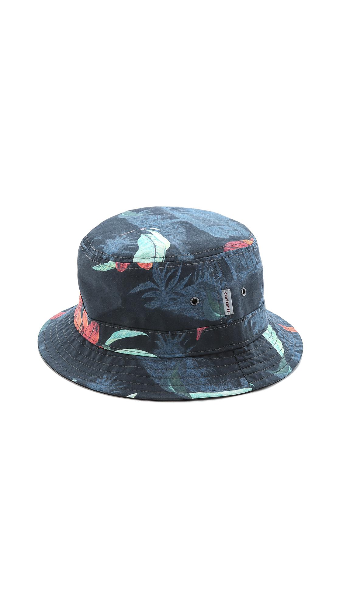 c7cde37c7fc ... italy carhartt wip reversible bucket hat in black for men lyst 85bda  29059 ...