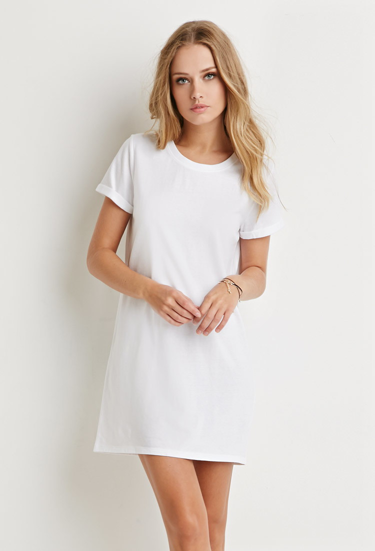 Get back to basics in cool style with these easy-to-wear modern yet timeless knit dresses from Old Navy. The Easiest Ensemble in Your Wardrobe Rotation. Is your closet ready for a refresh? This collection of stylishly versatile jersey t-shirt dresses will add a new dimension to your everyday wear.