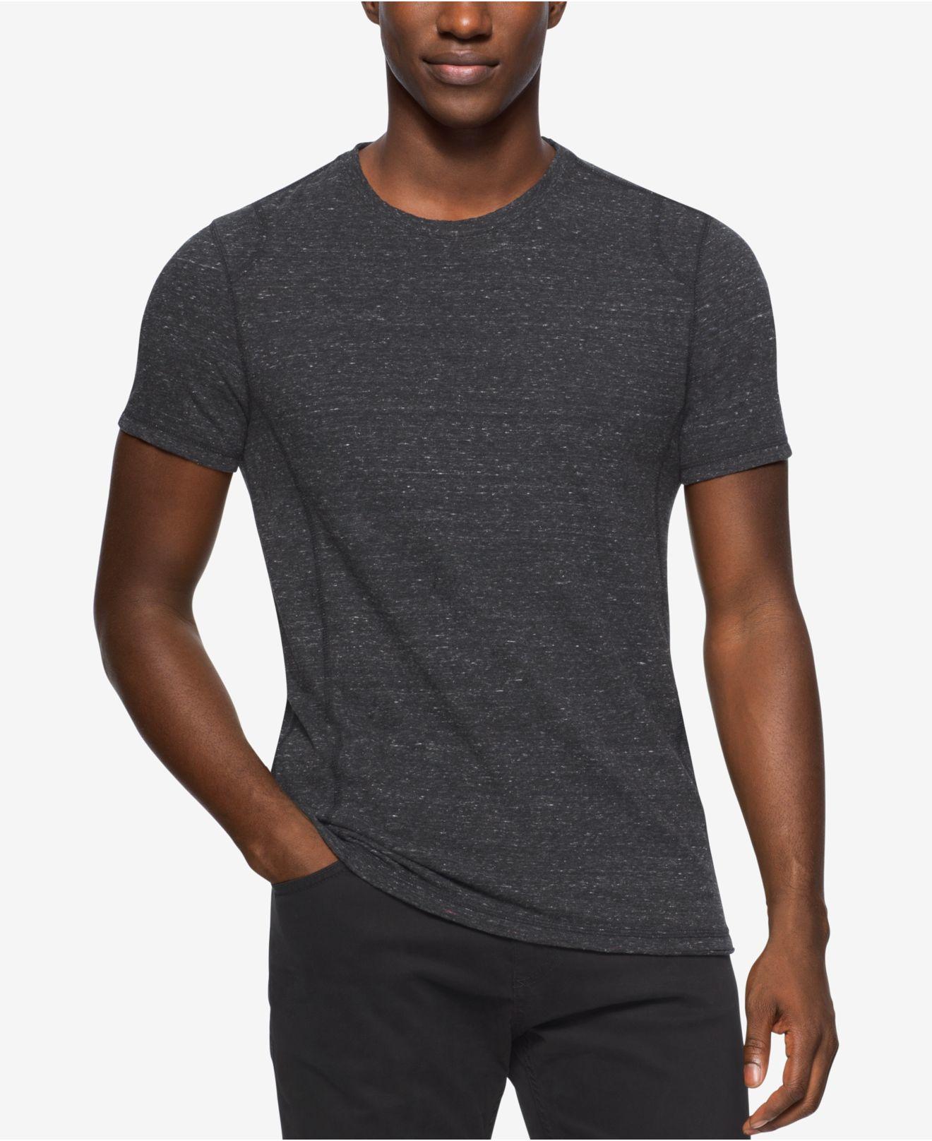 calvin klein jeans men 39 s modern slub crew neck t shirt in. Black Bedroom Furniture Sets. Home Design Ideas