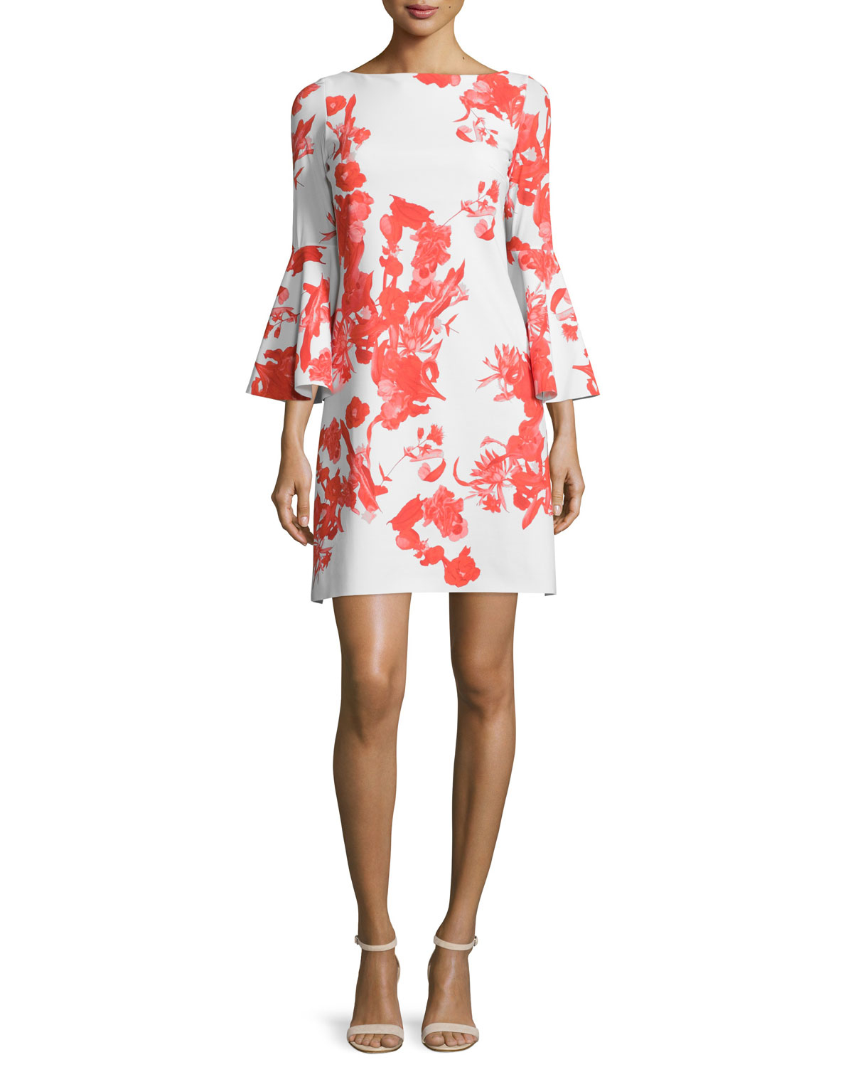 7fd059e0 La Petite Robe Di Chiara Boni Floral-Print Stretch-Jersey Dress in ...