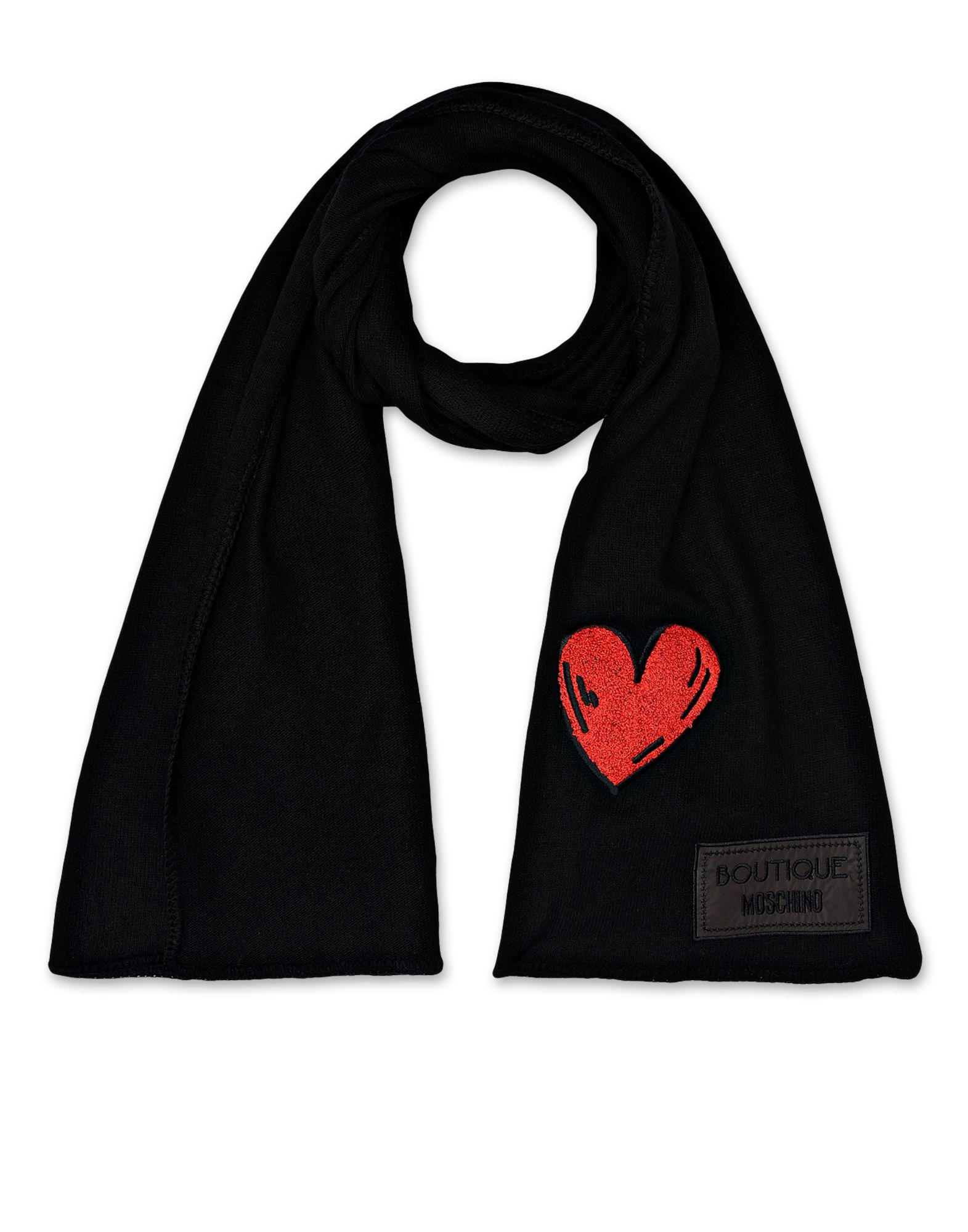 boutique moschino scarf in black lyst