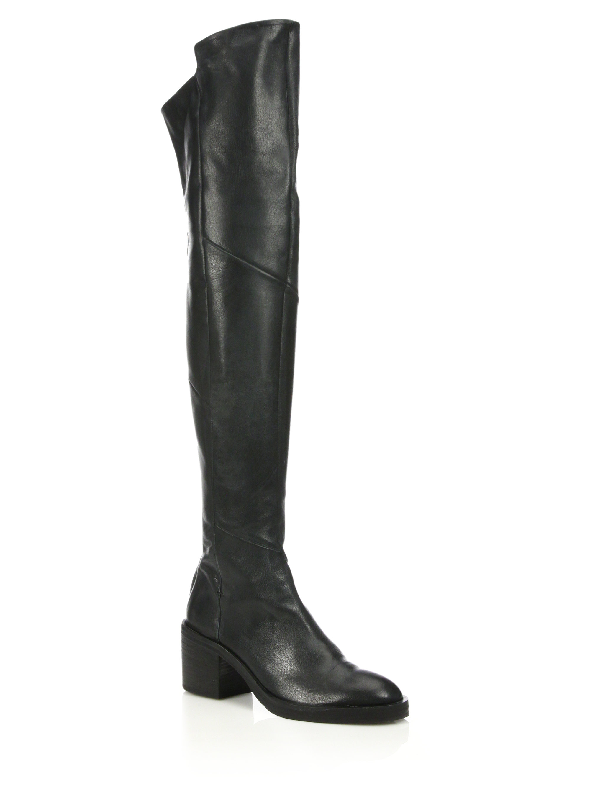 sale get to buy in China cheap online Alberto Fermani Leather Over-The-Knee Boots free shipping new amazing price cheap price zc4lSMW6ND