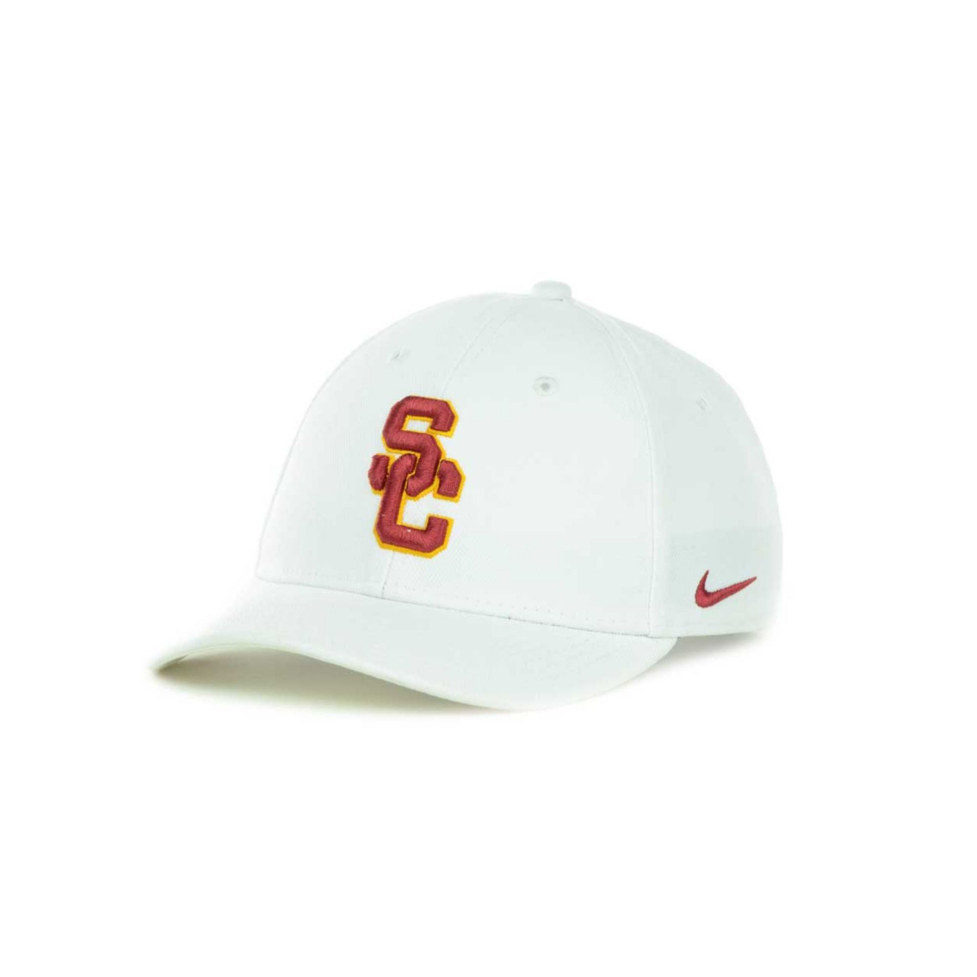 9aa038a44deae Nike Usc Trojans Drifit Classic Cap in White for Men - Lyst