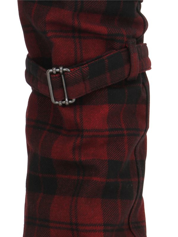 Diesel black gold 17cm Plaid Wool Cargo Pants in Red for Men   Lyst