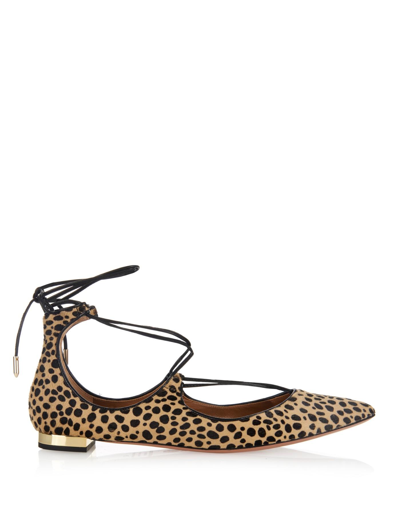 Animal Print Shoe Laces