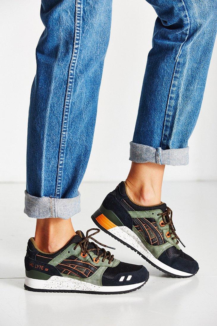 Lyst - Asics Gel-lyte Iii Sneaker in Green