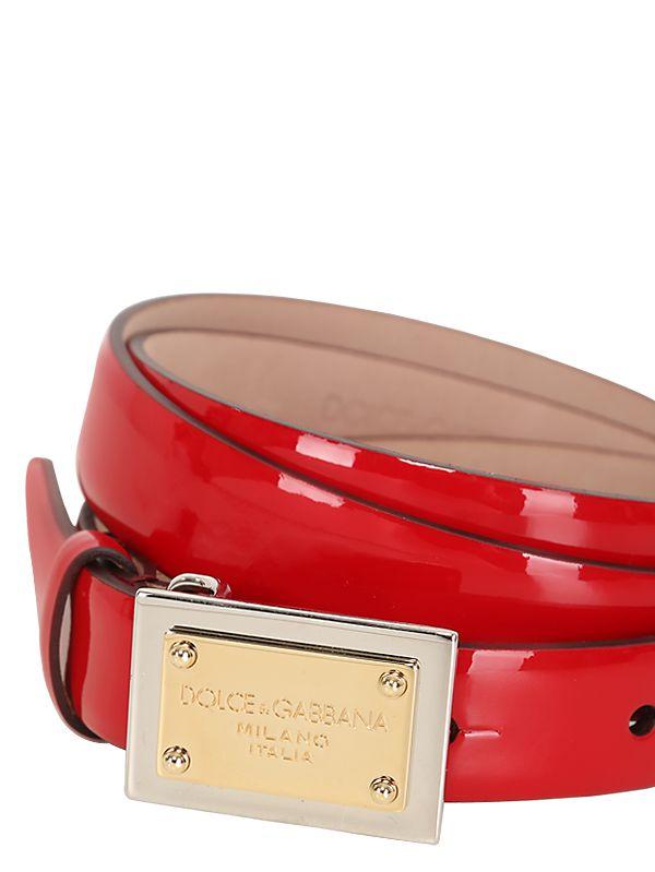 DG logo belt - Red Dolce & Gabbana G4OabpGgod