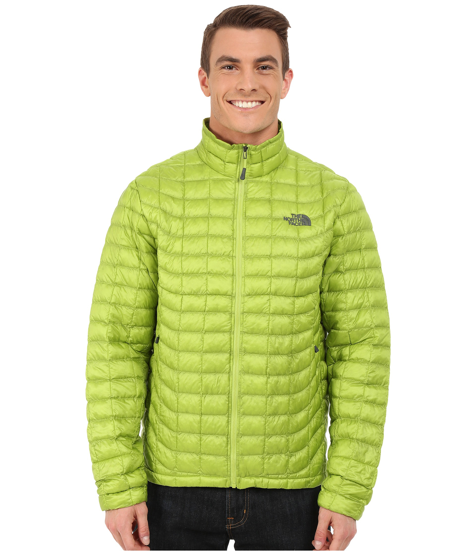 Lyst - The North Face Thermoball™ Full Zip Jacket in Green for Men beb8bd43bc3a