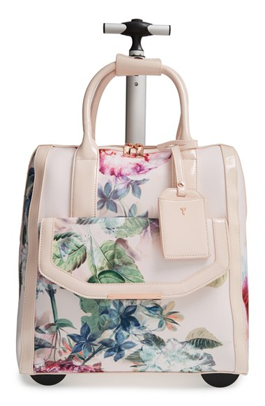 Ted Baker Pure Peony Travel Bag In Pink Lyst