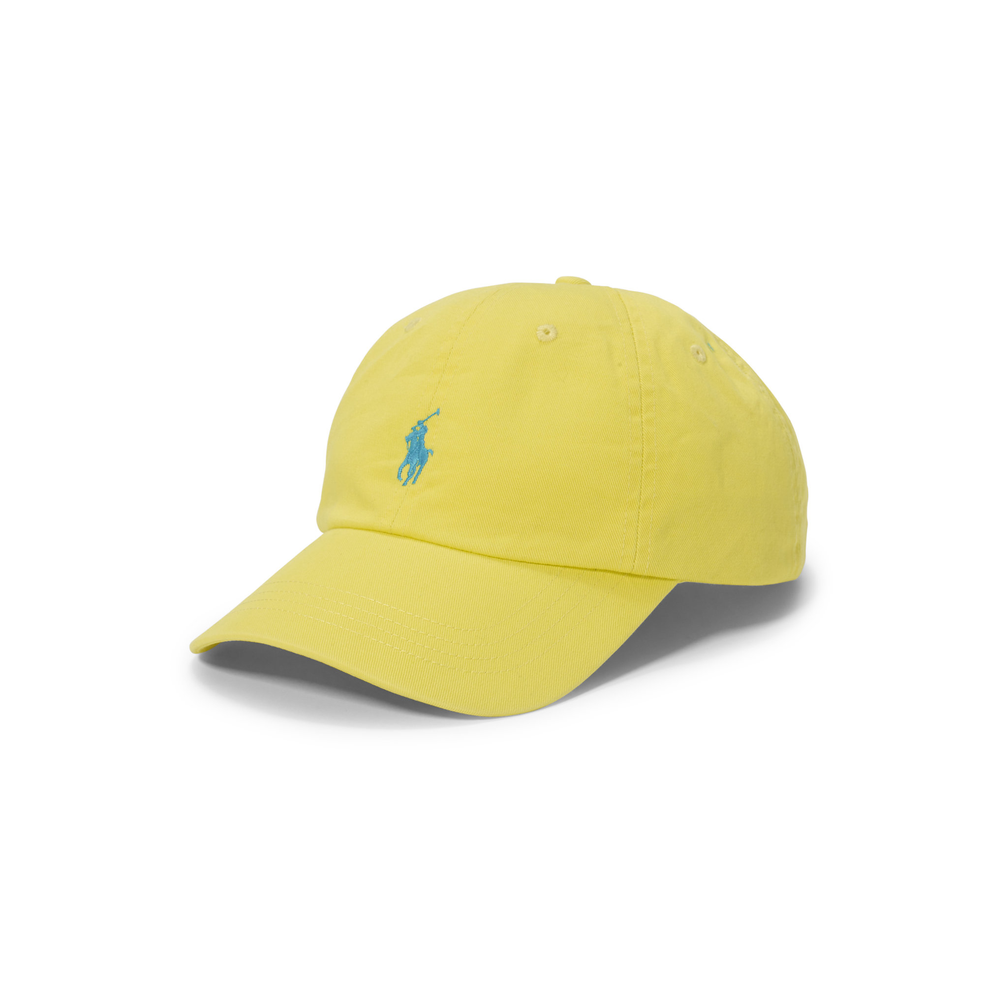 Lyst - Polo Ralph Lauren Cotton Chino Baseball Cap in Yellow for Men 97a5869e045
