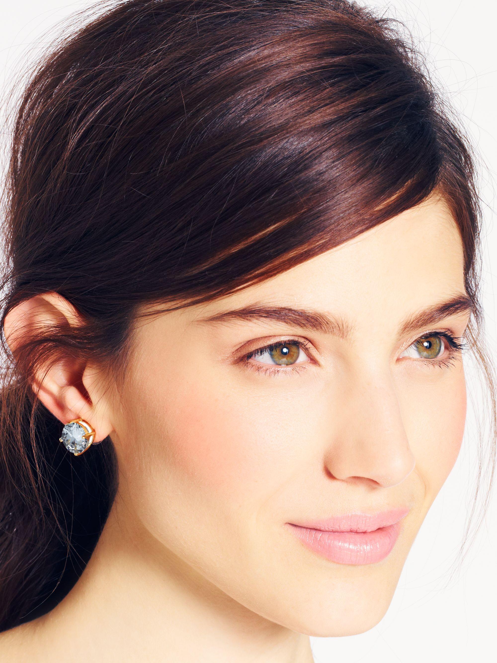948df35d7026f Kate Spade Glitter Gumdrop Earrings - Best All Earring Photos ...