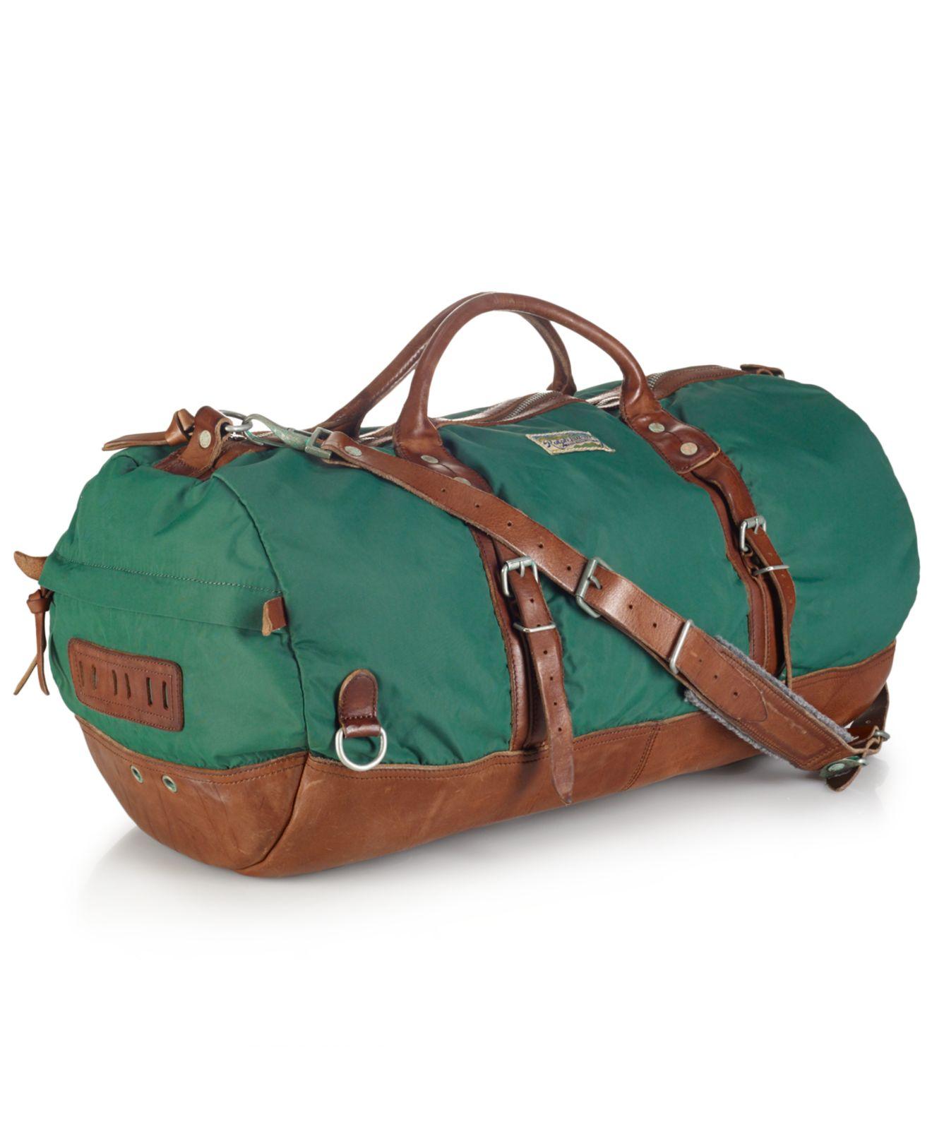 Lyst - Polo Ralph Lauren Yosemite Nylon Duffle Bag in Green for Men 17e8ce8de5