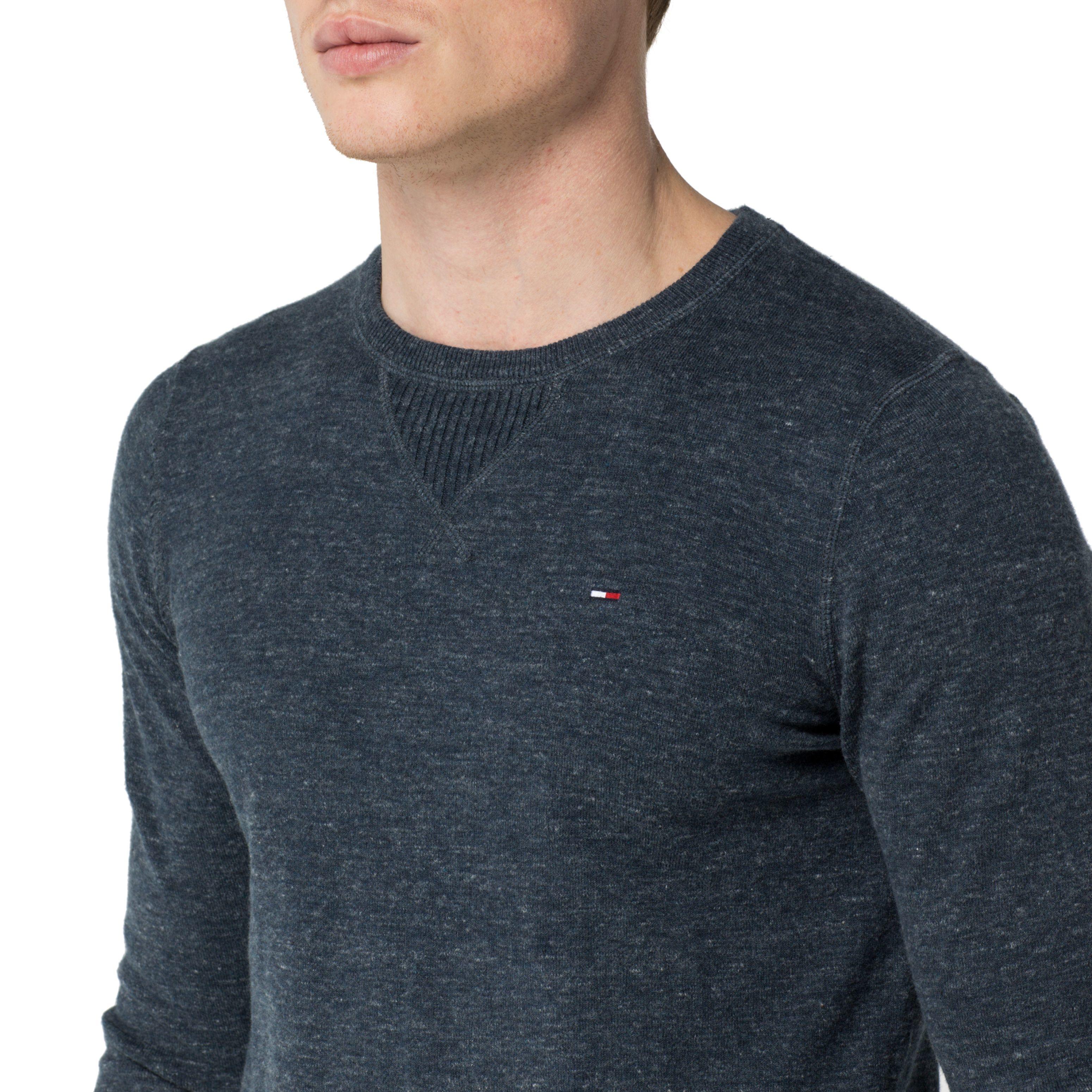 lyst tommy hilfiger ethan sweater in blue for men. Black Bedroom Furniture Sets. Home Design Ideas