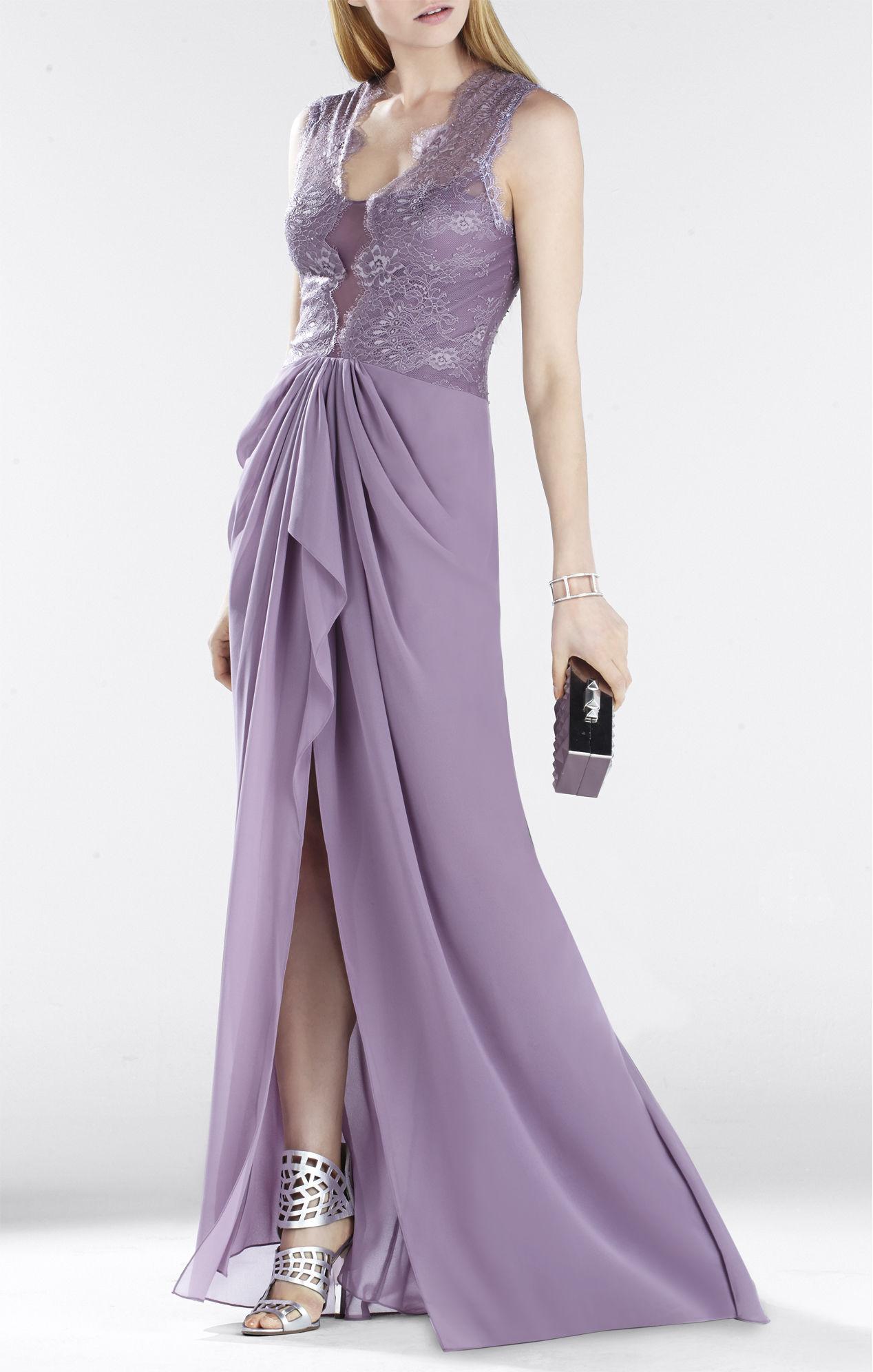 BCBG Purple Gown – Fashion dresses
